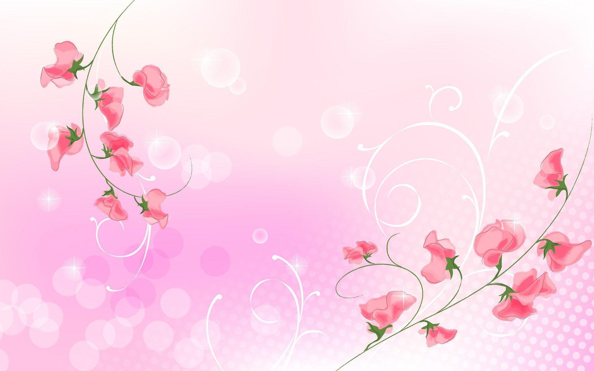 Wallpapers For > Pink Simple Light Background