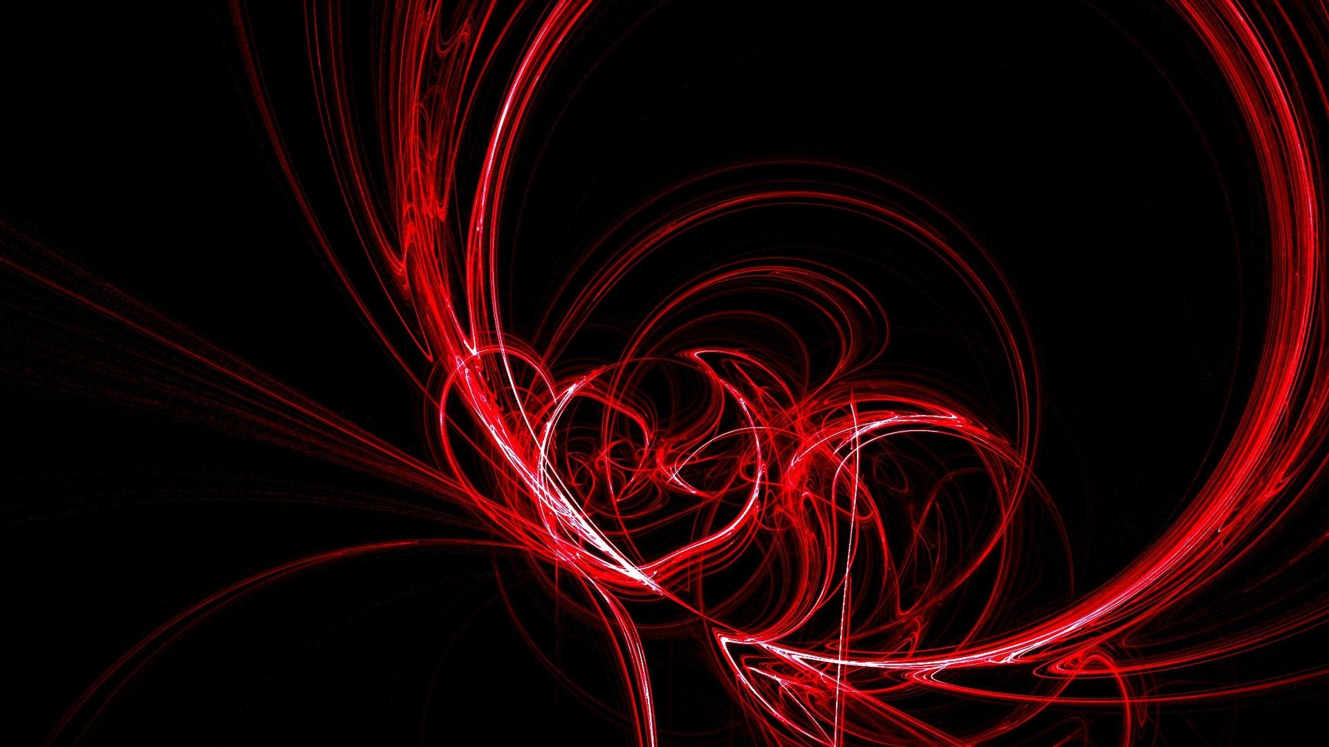 Download Red Abstract Wallpaper 1920 x 1080