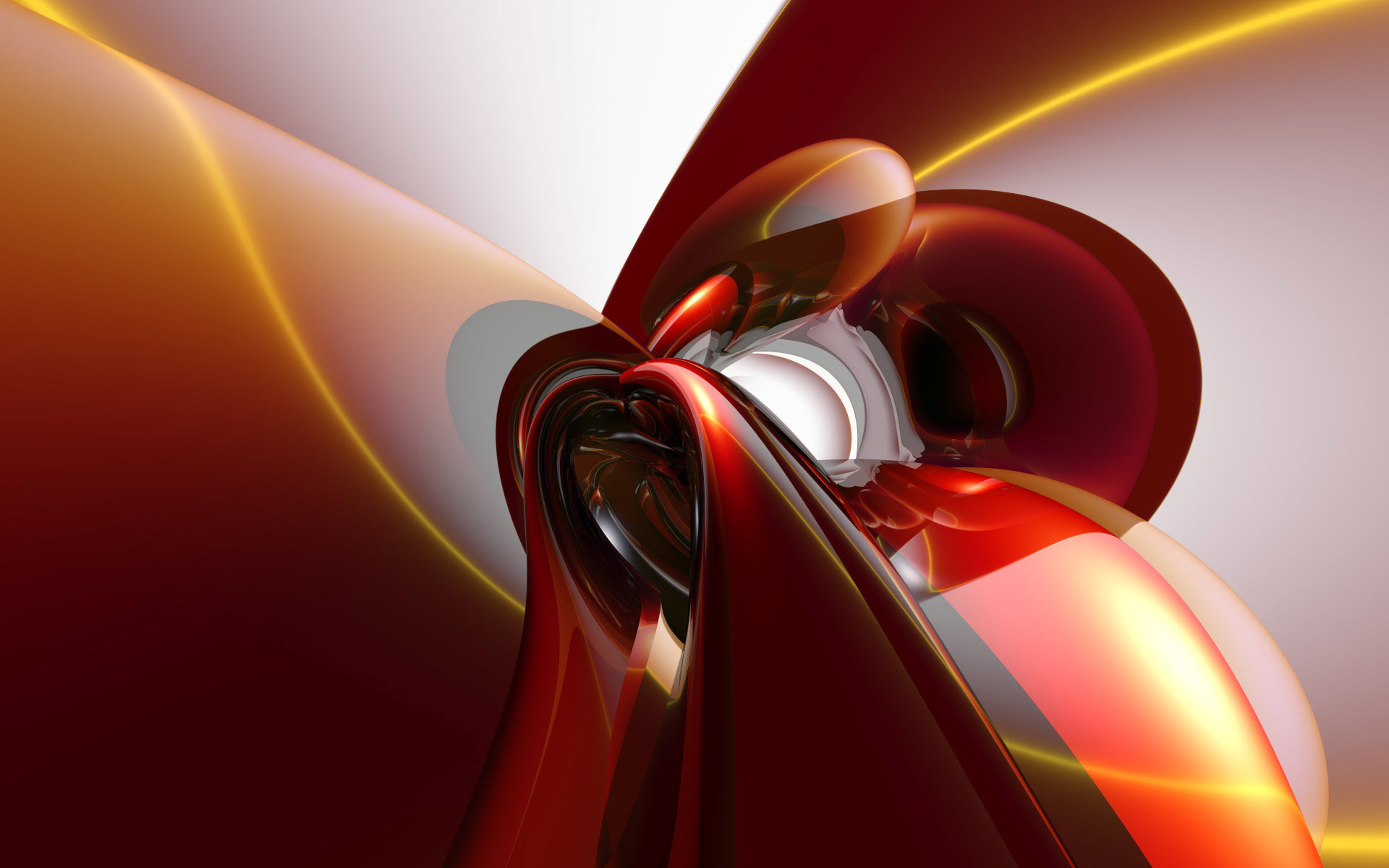 Red White Abstract Wallpaper Abstract 3D (58 Wallpapers)