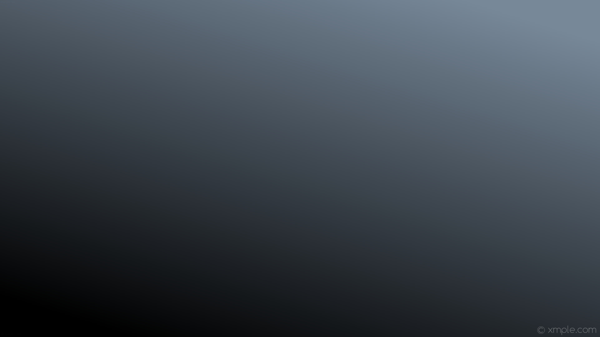 wallpaper gradient linear black grey light slate gray #778899 #000000 45°