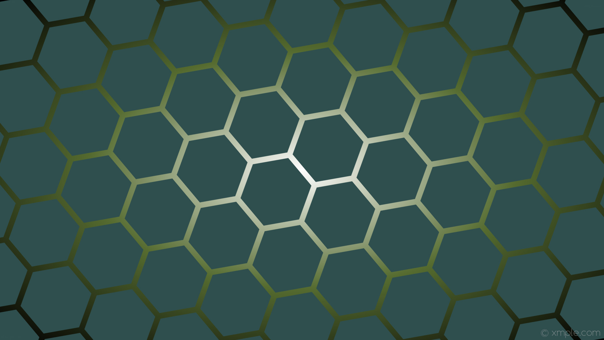 wallpaper green grey gradient black glow white hexagon dark slate gray dark  olive green #2f4f4f