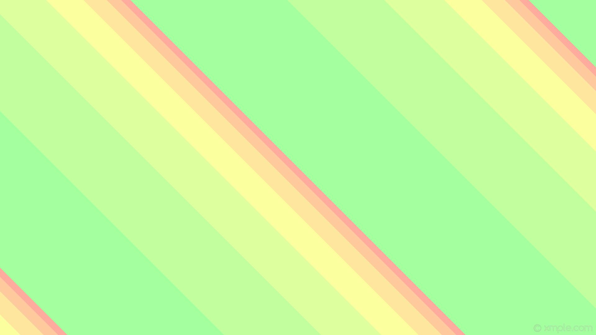 wallpaper stripes green orange red streaks yellow lines lime light red  light orange light yellow light