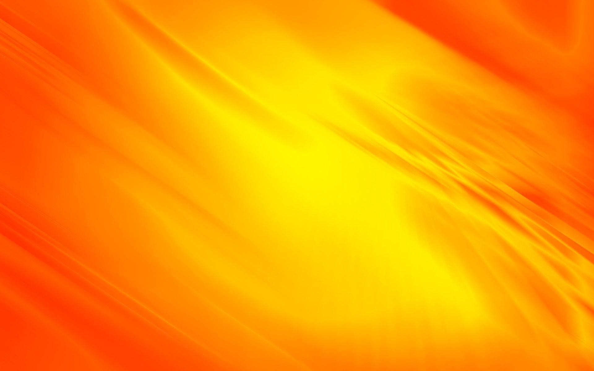 Yellow orange flowing curves wallpaper