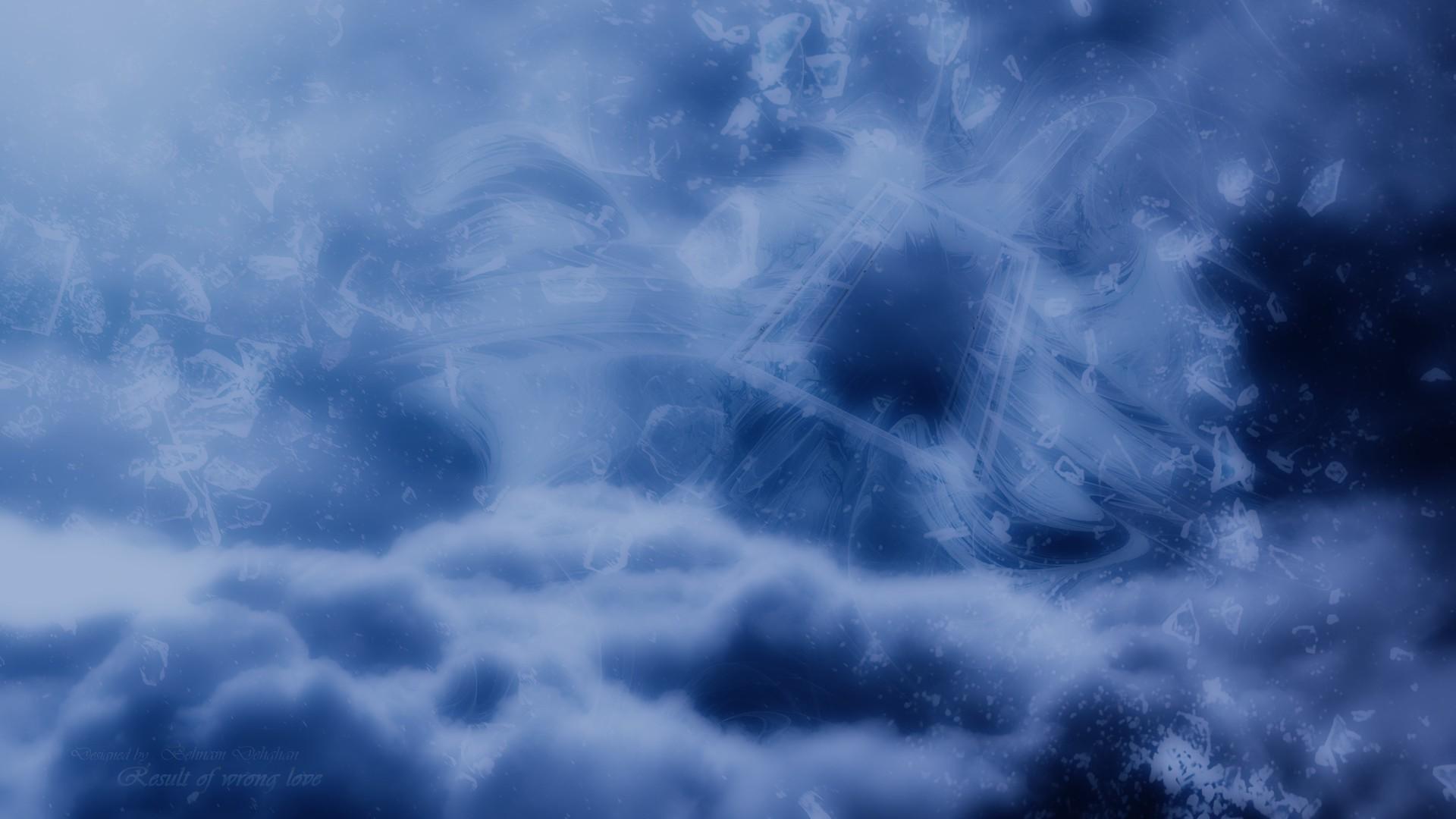 Blue clouds love dark design patterns templates textures backgrounds skies  wallpaper | | 192246 | WallpaperUP