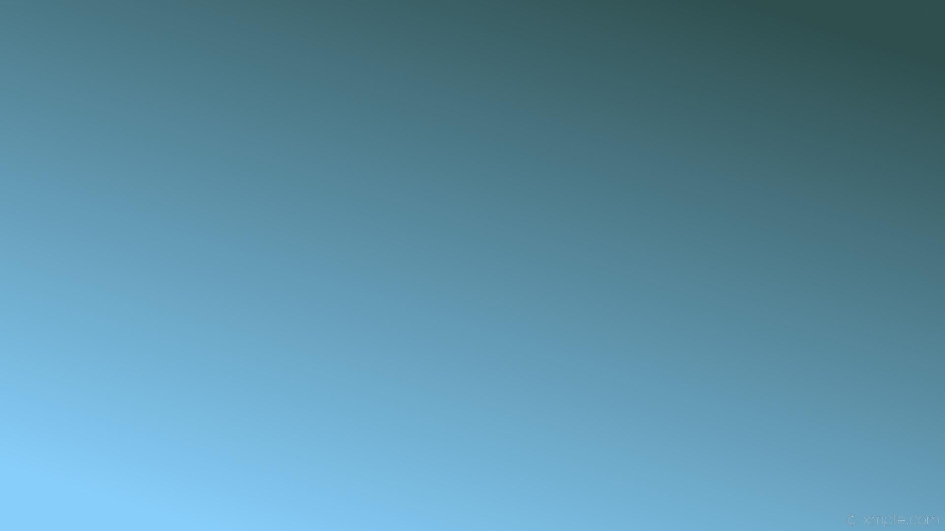 wallpaper grey blue gradient linear light sky blue dark slate gray #87cefa  #2f4f4f 225