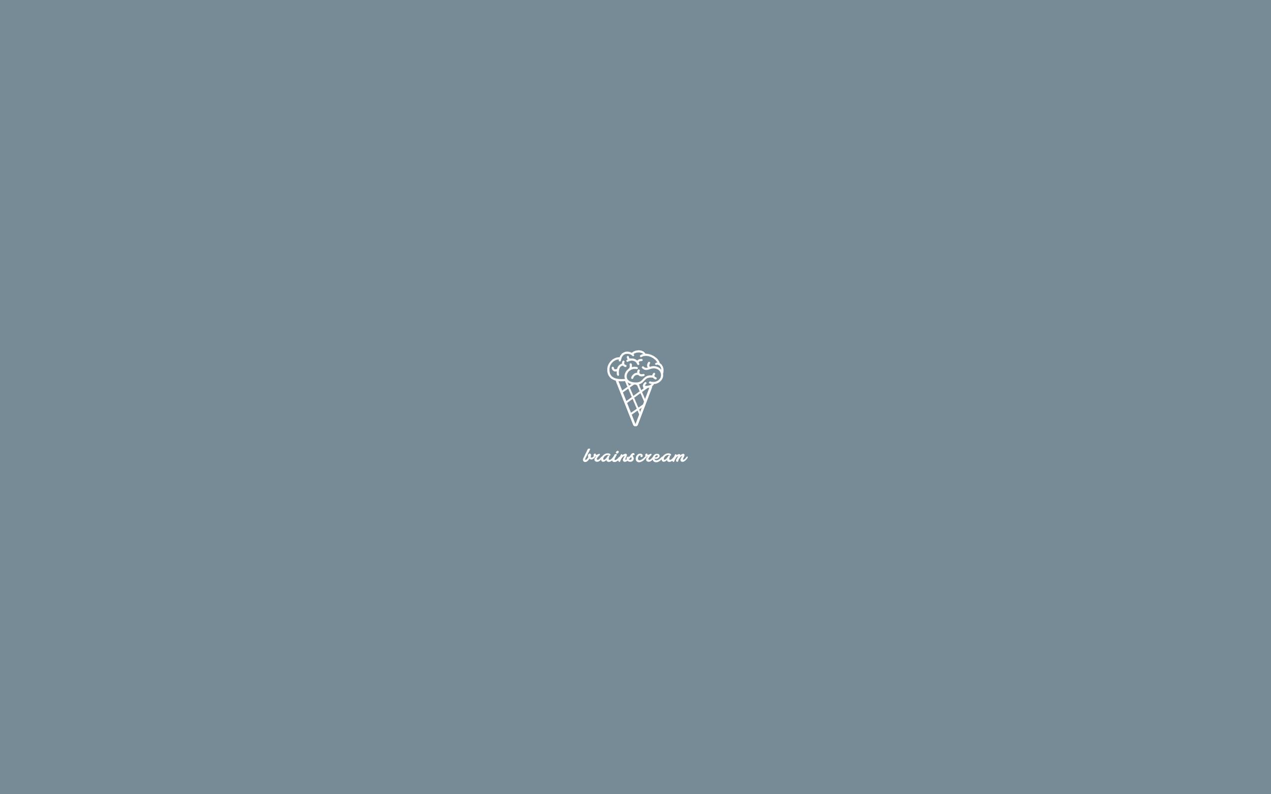 brainscream minimalist wallpaper blue