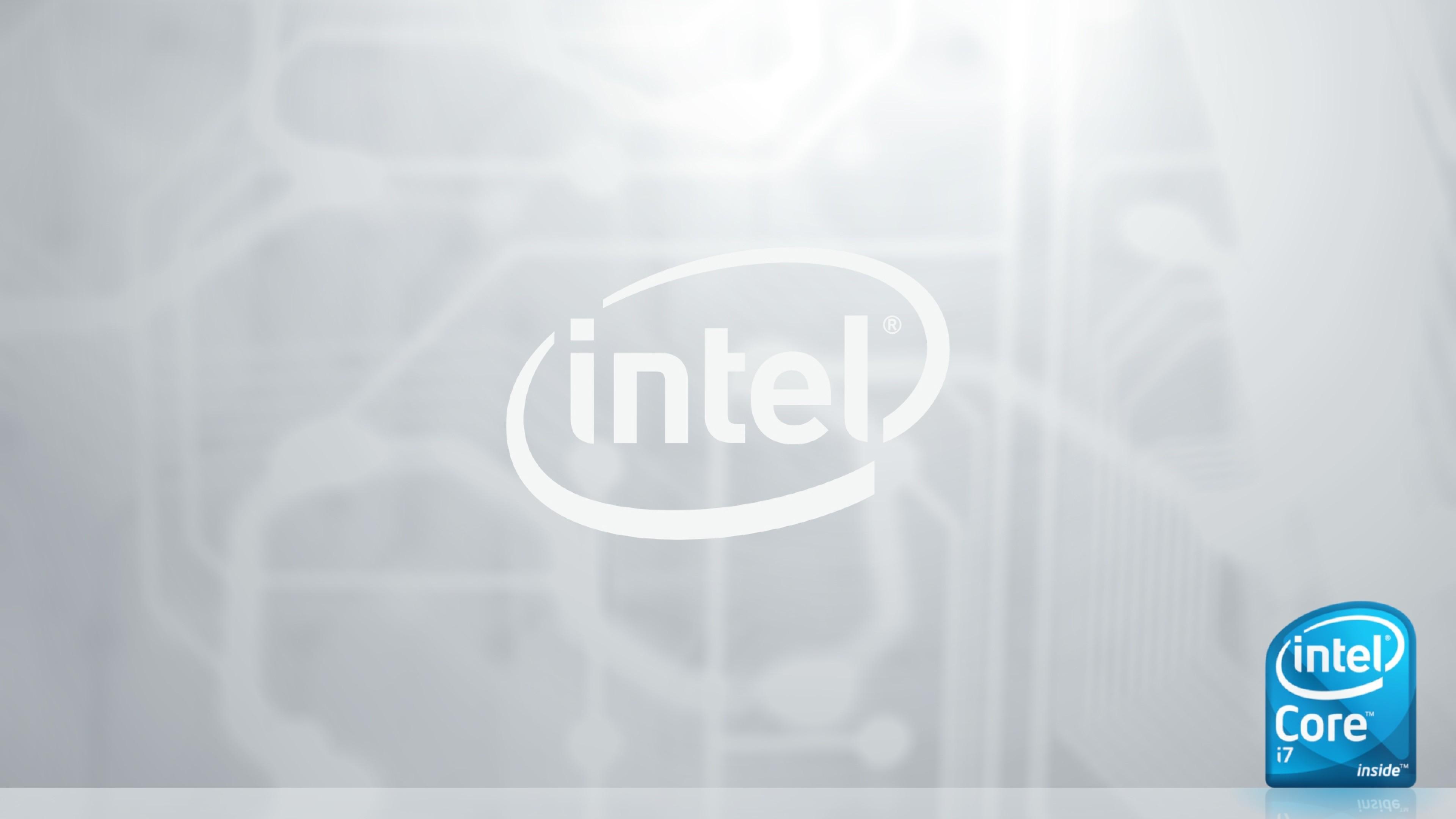 Wallpaper intel, firm, processor, cpu, blue, grey