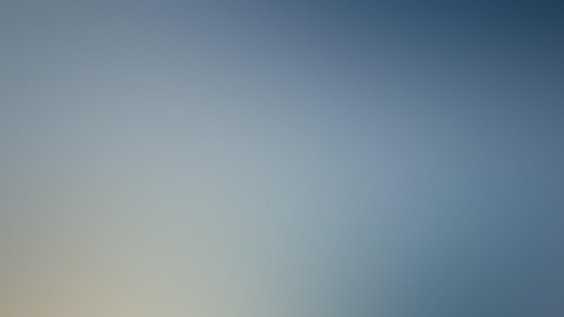 Blue minimalistic yellow gradient blurred wallpaper