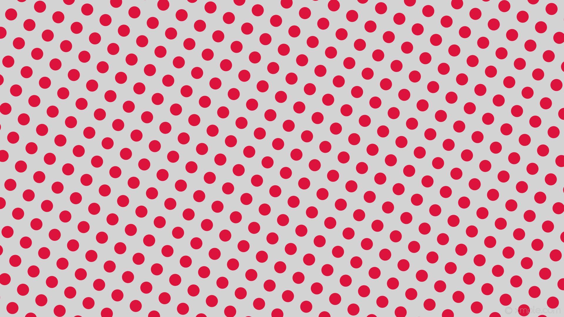 wallpaper grey spots red polka dots light gray crimson #d3d3d3 #dc143c 150°  41px