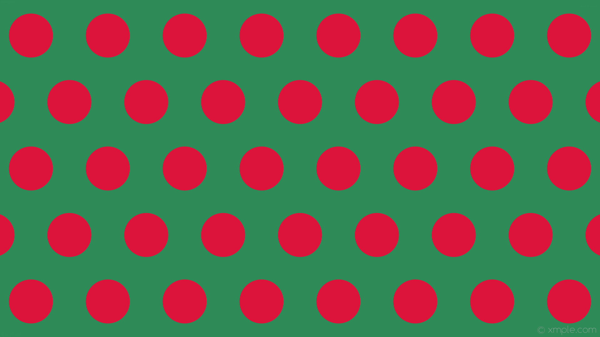 wallpaper red green polka dots hexagon sea green crimson #2e8b57 #dc143c 0°  141px
