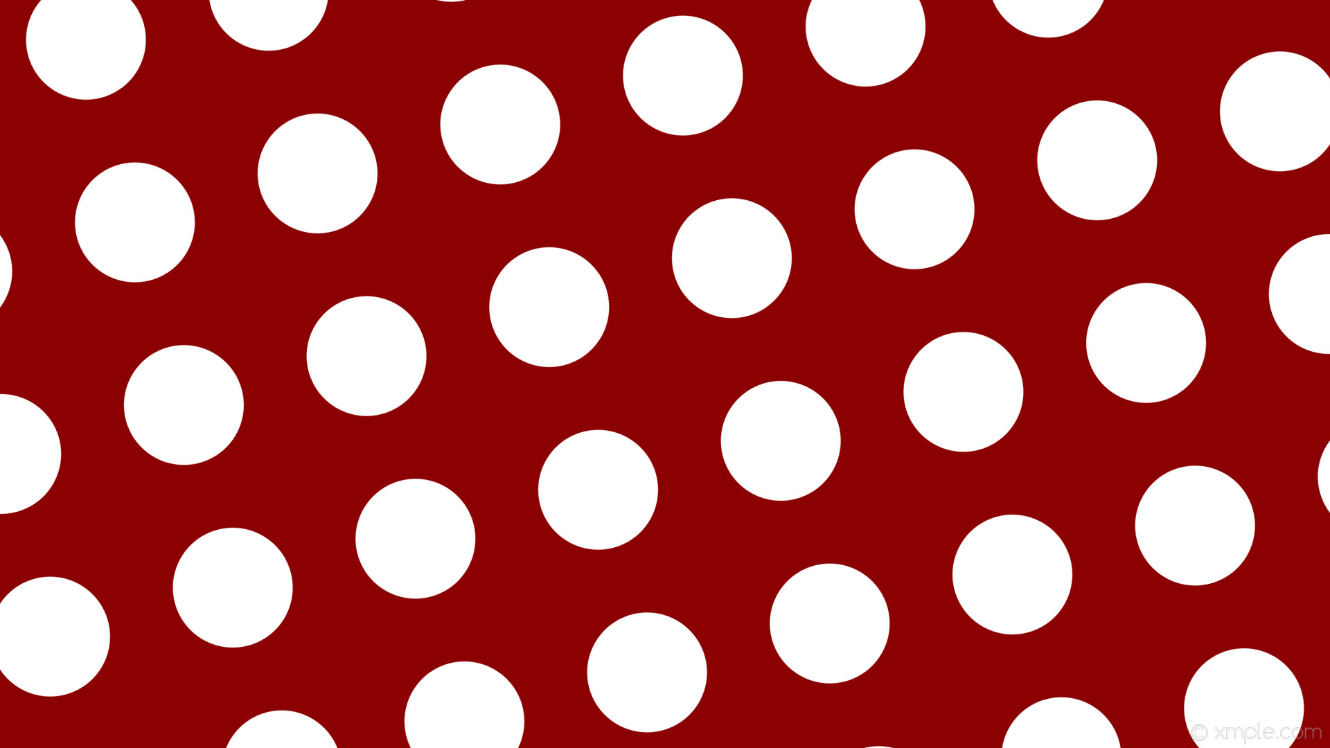 wallpaper red polka dots white spots dark red #8b0000 #ffffff 15° 173px  273px