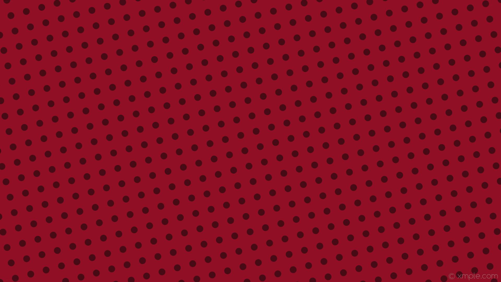 wallpaper spots red polka dots dark red #900f24 #470b15 105° 26px 61px