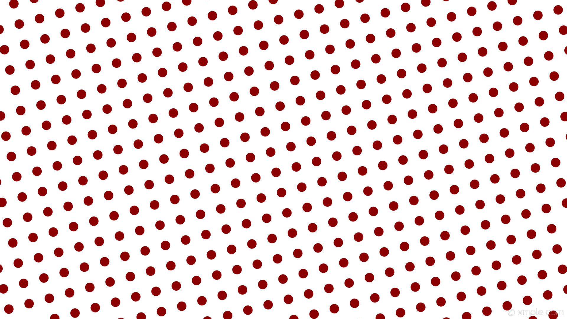wallpaper red polka dots spots white dark red #ffffff #8b0000 285° 32px 71px