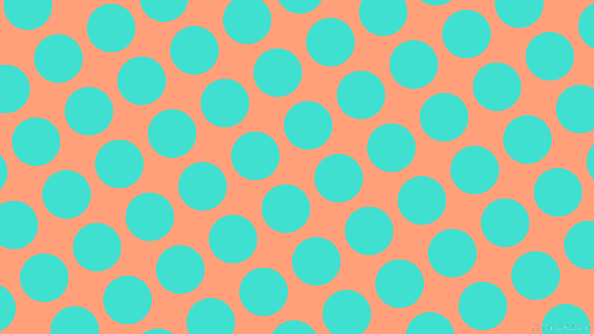 wallpaper spots red polka dots blue light salmon turquoise #ffa07a #40e0d0  210° 157px
