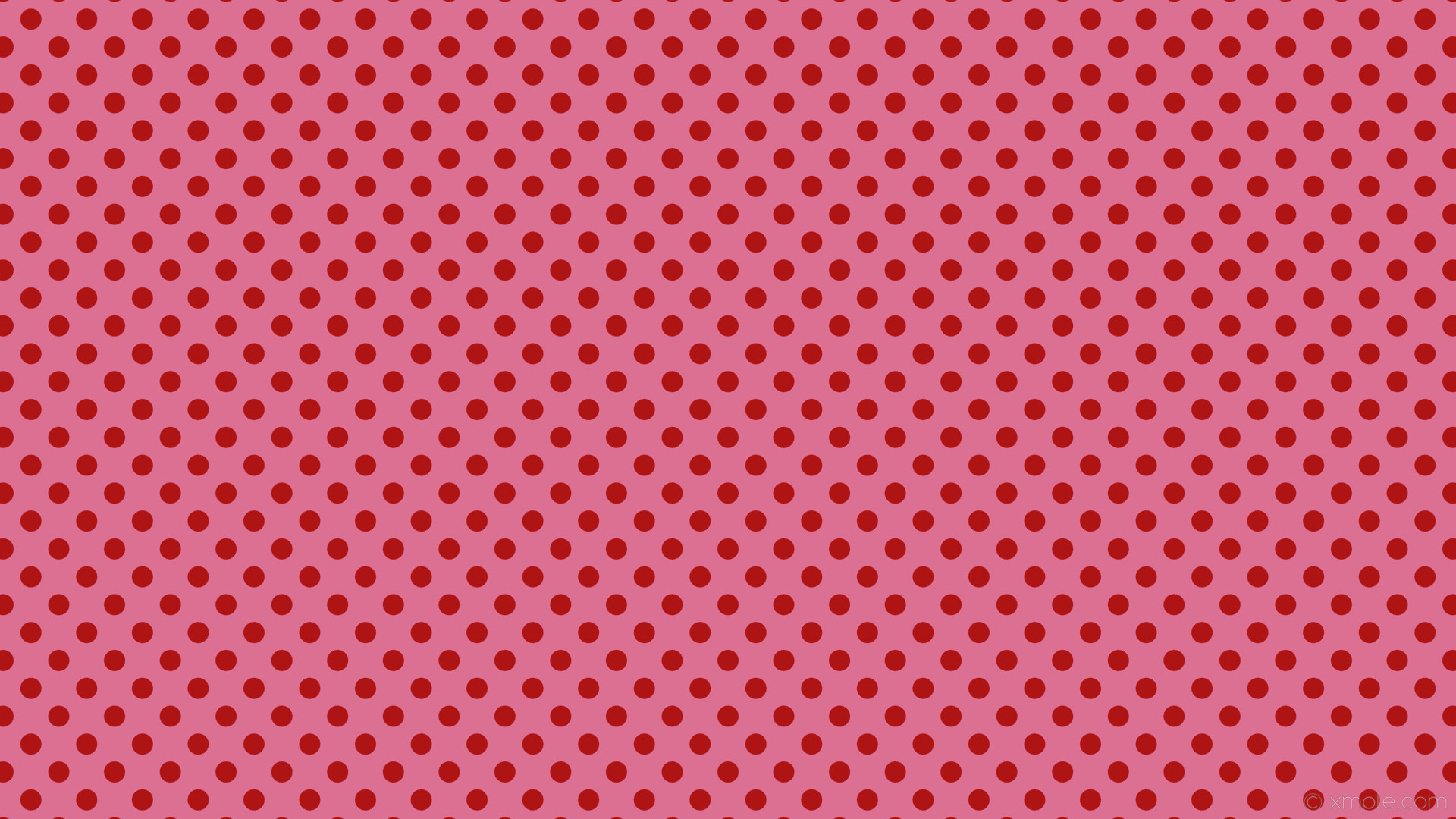 wallpaper polka red spots pink dots pale violet red #db7093 #af1414 225°  28px