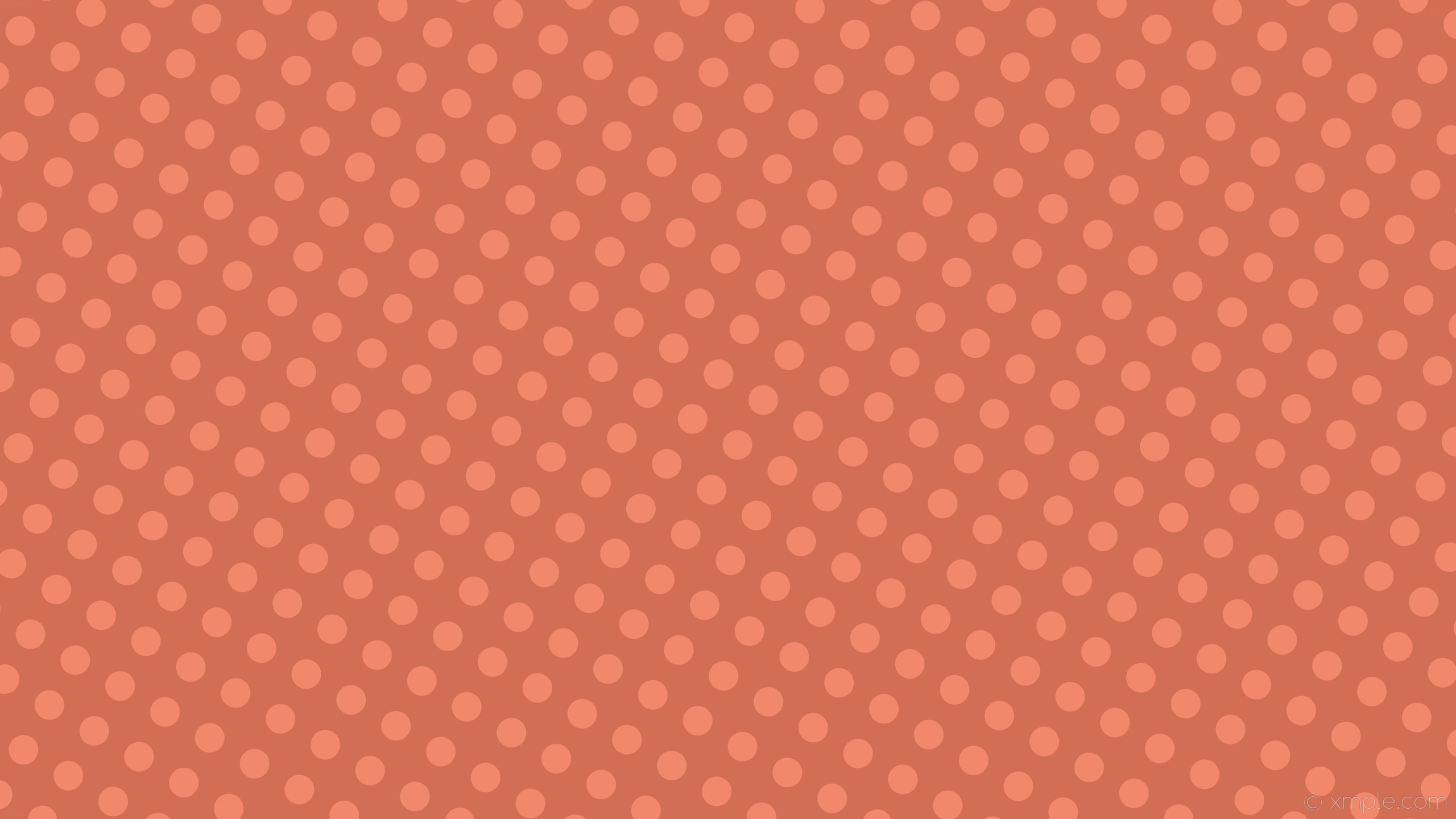 wallpaper spots red polka dots #d26e53 #f2886b 60° 52px 91px
