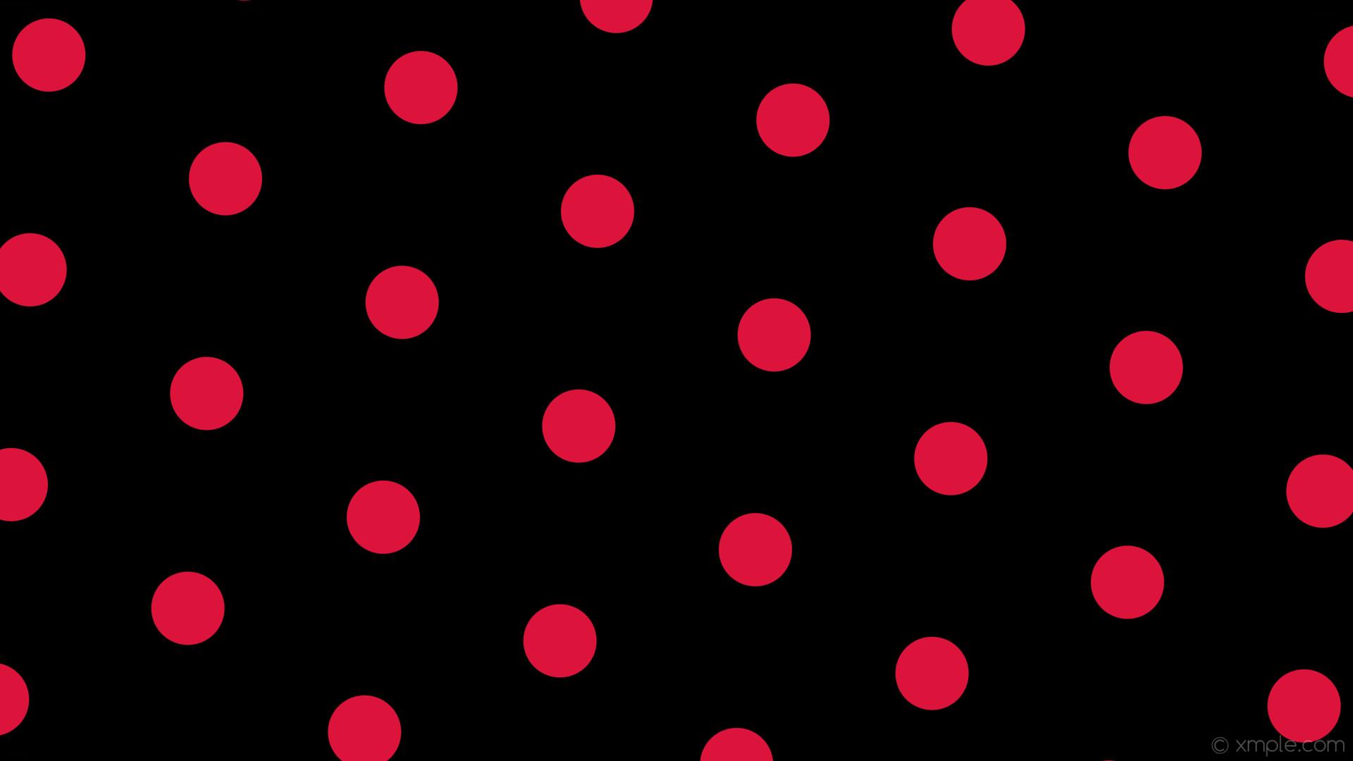 wallpaper dots black red polka hexagon crimson #000000 #dc143c diagonal 25°  104px 306px