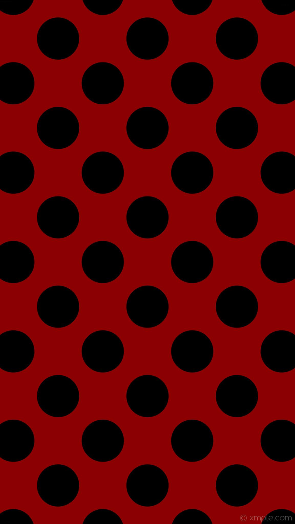 wallpaper red polka dots black spots dark red #8b0000 #000000 225° 165px  247px
