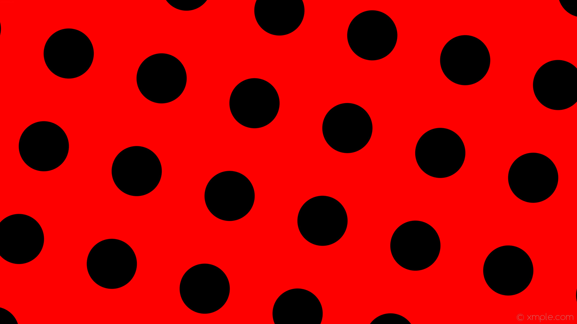 wallpaper dots red polka black spots #ff0000 #000000 255° 167px 320px