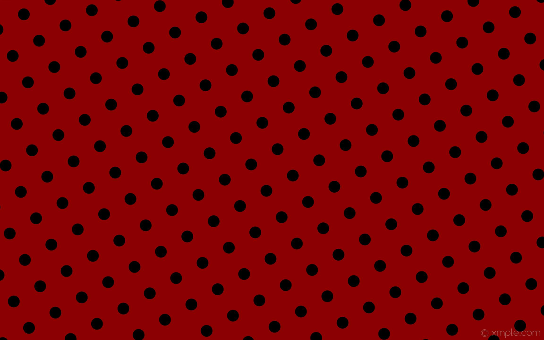 wallpaper red polka dots black spots dark red #8b0000 #000000 210° 50px  129px