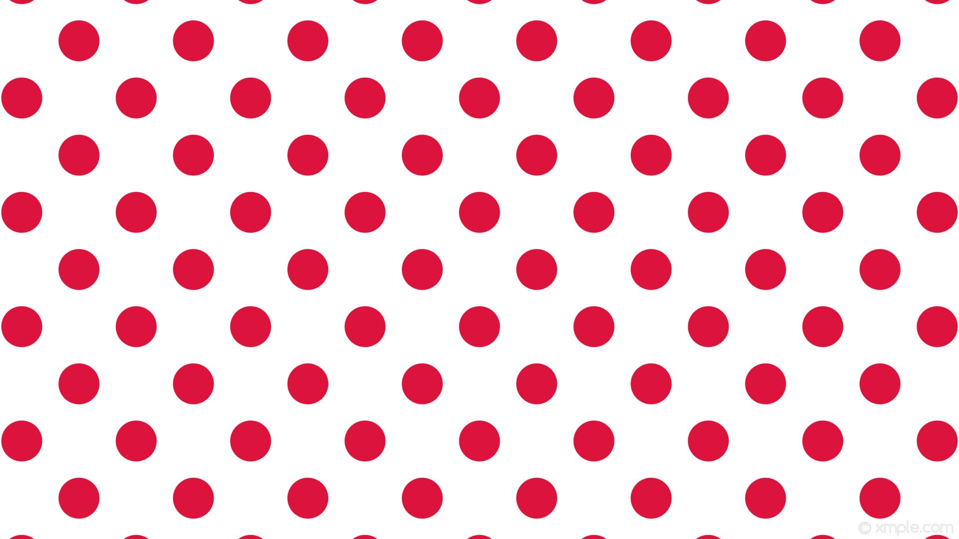 wallpaper white polka red spots dots crimson #ffffff #dc143c 315° 82px 162px