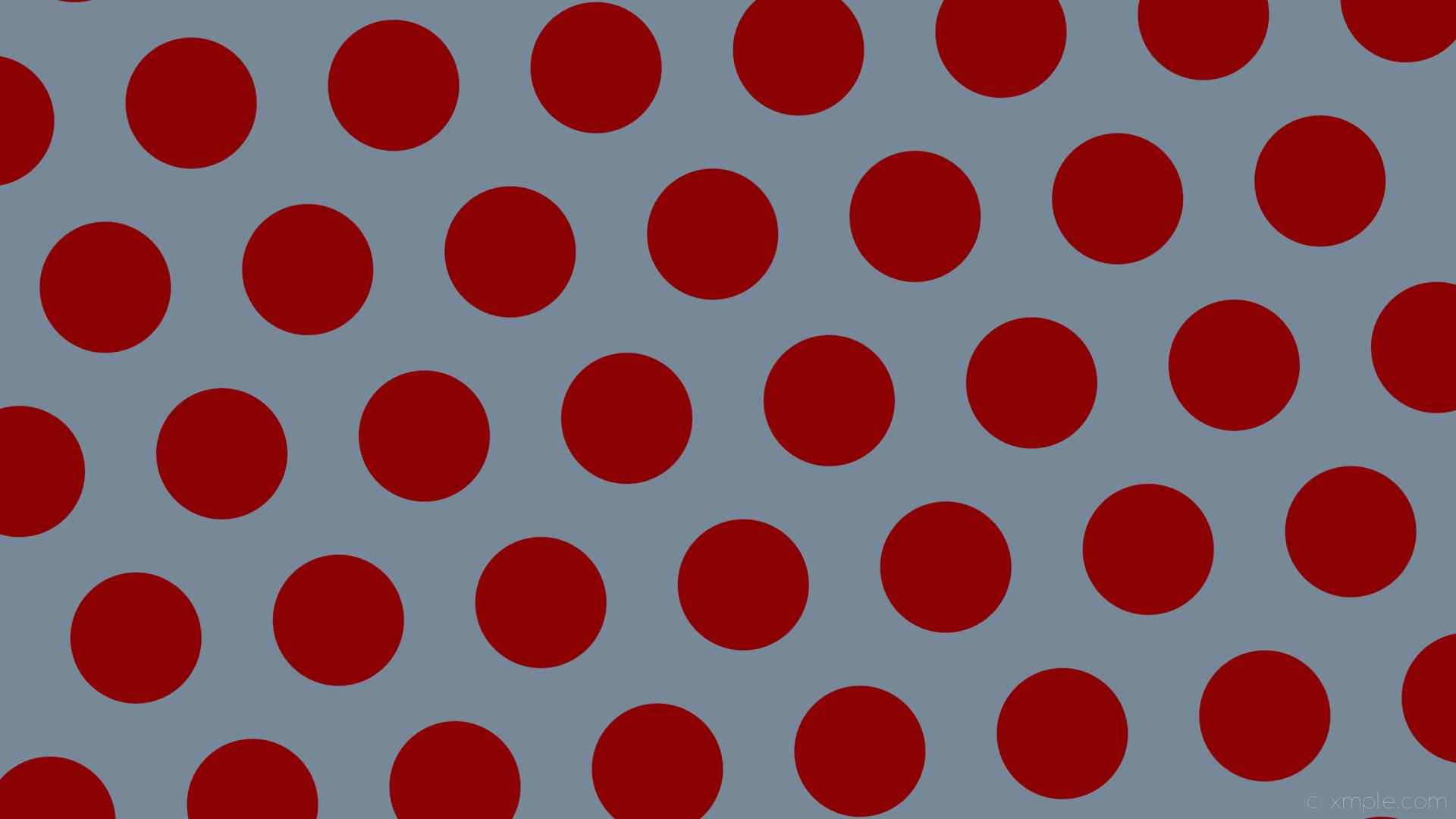 wallpaper red polka dots grey hexagon light slate gray dark red #778899  #8b0000 diagonal