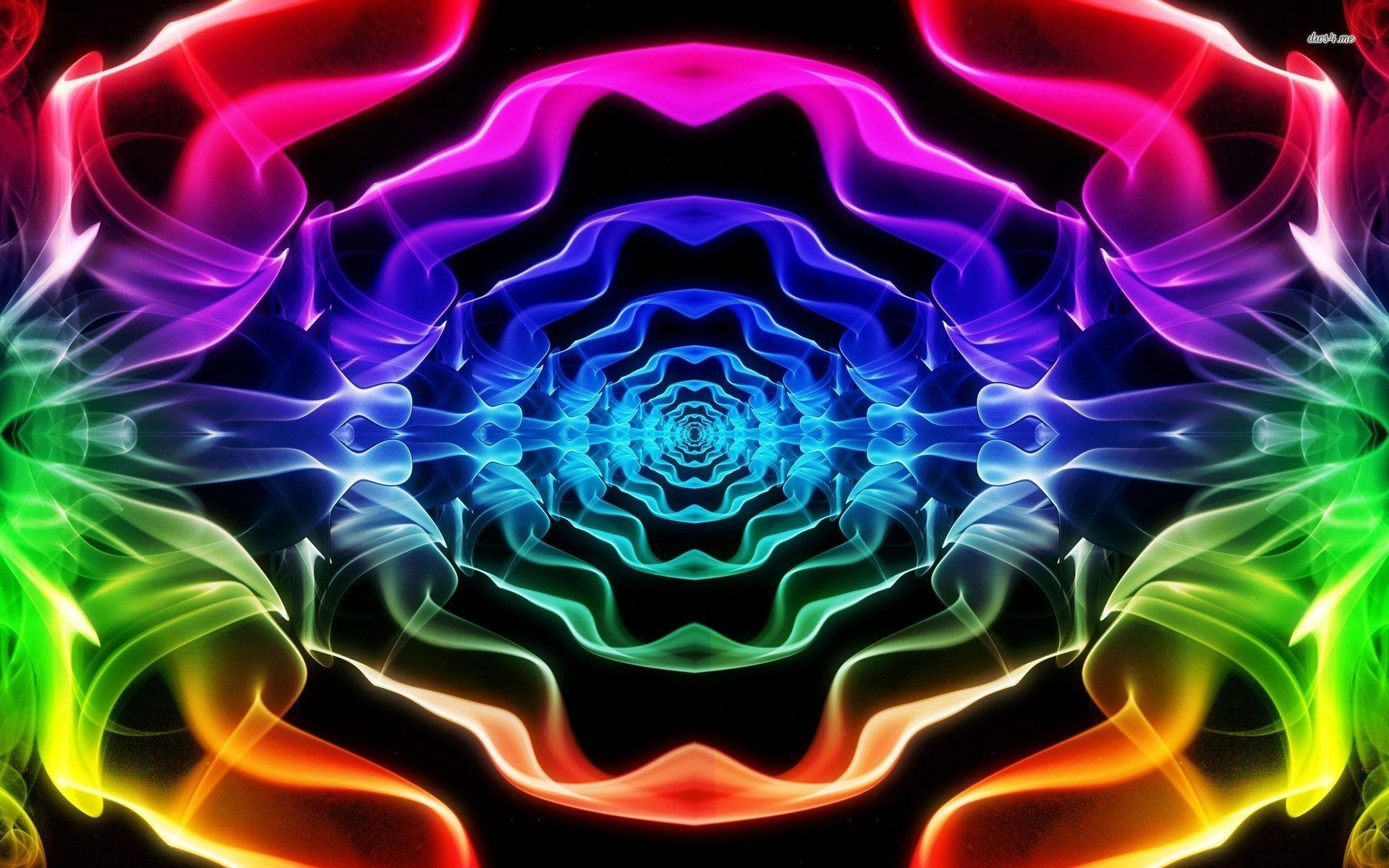fractal neon smoke wallpaper – https://www.hdofwallpapers.com/fractal