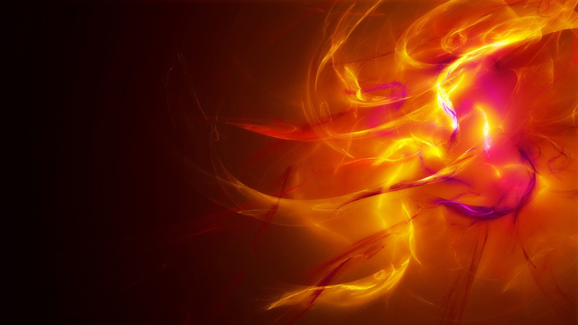 Wallpaper fire, flame, explosion, line, shadow