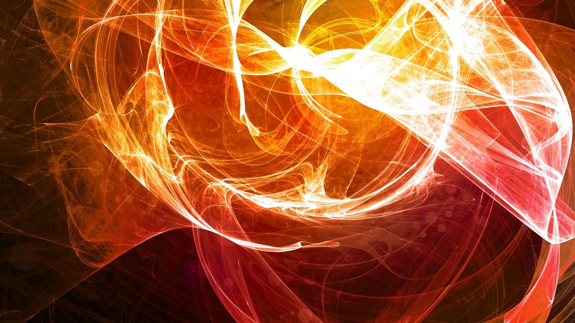 Wallpaper smoke, veil, flame, light