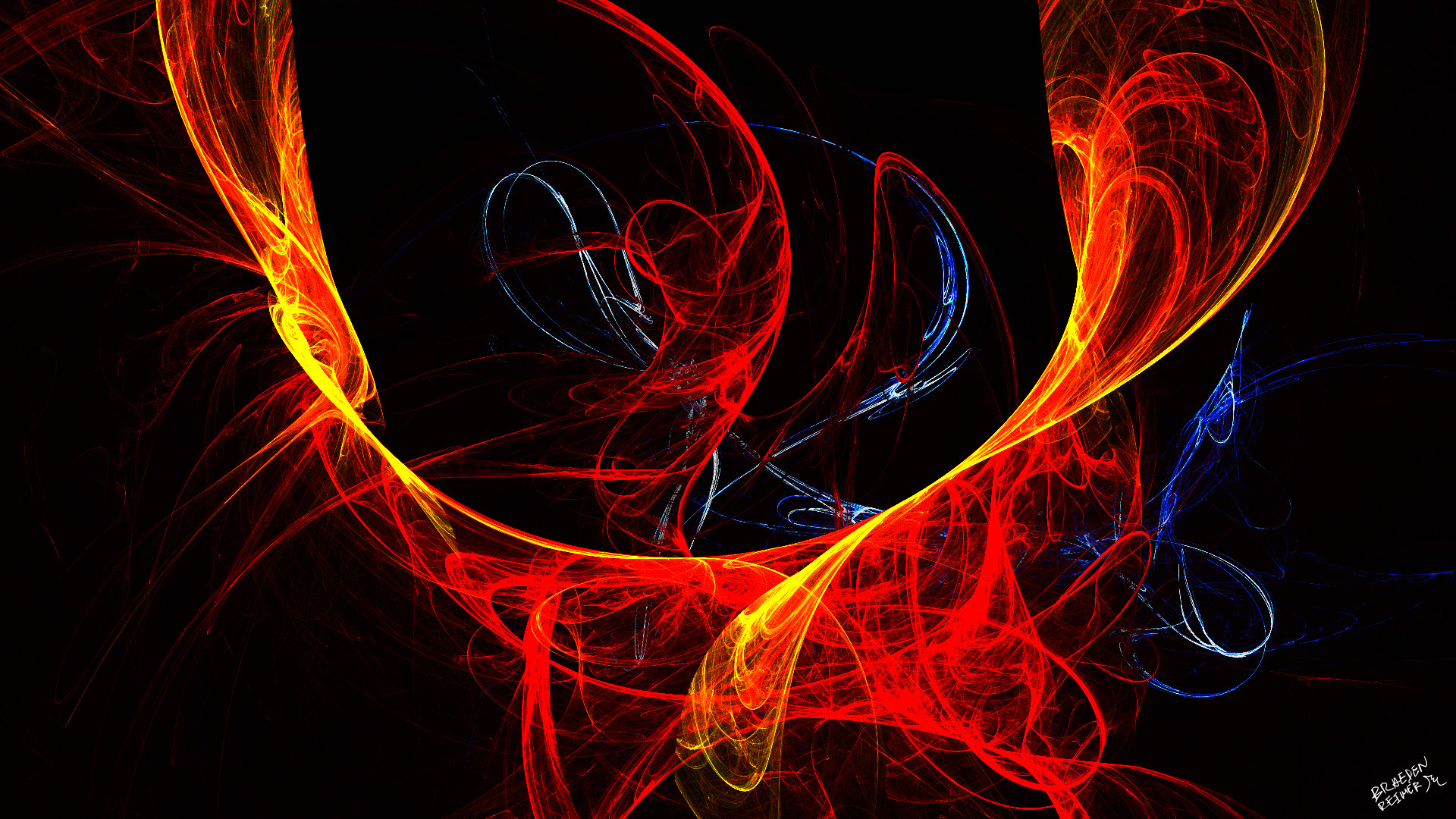Fire Sweep By Neon Photo