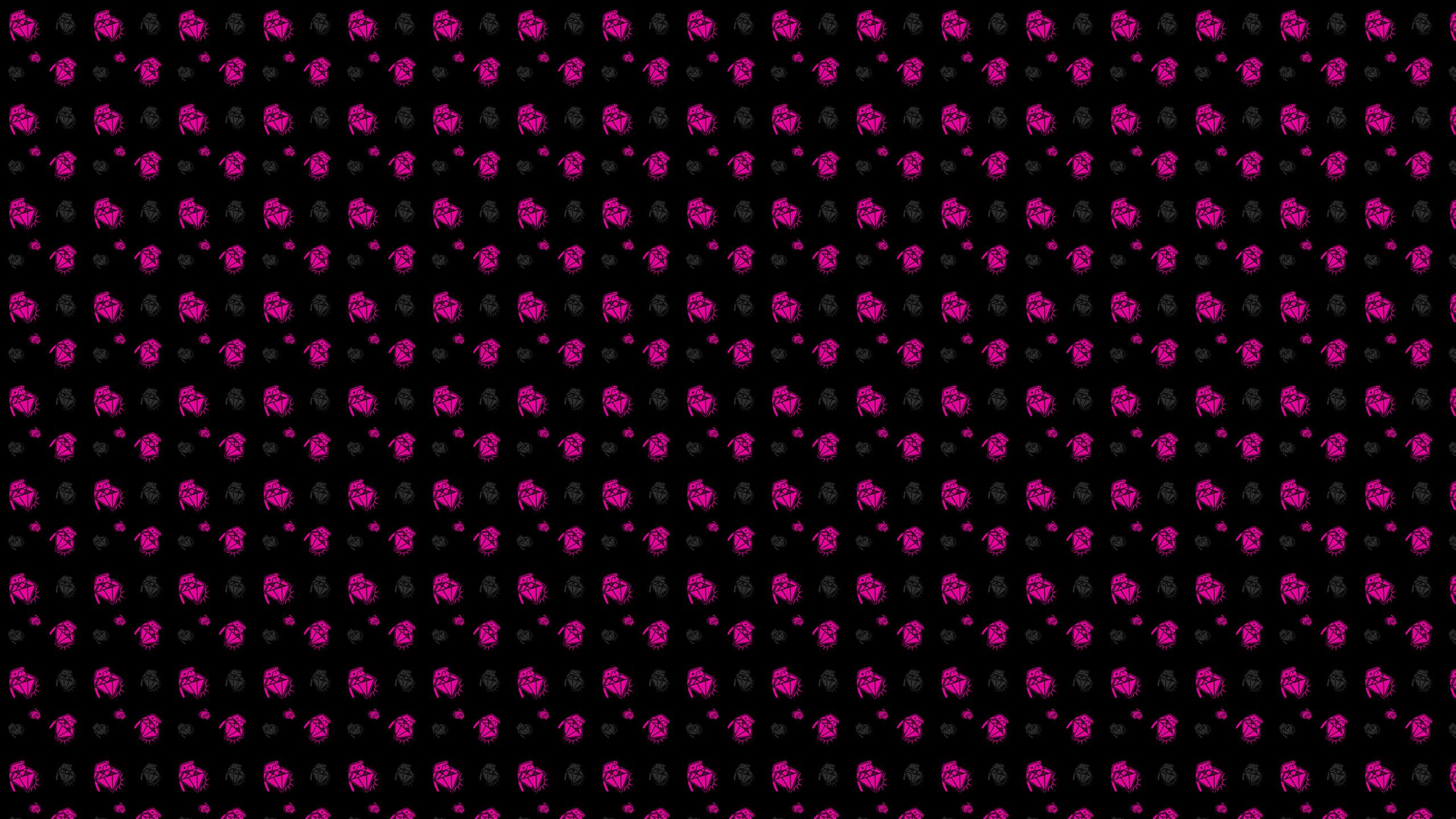 Diamond Grenade Pink Background Twitter Desktops