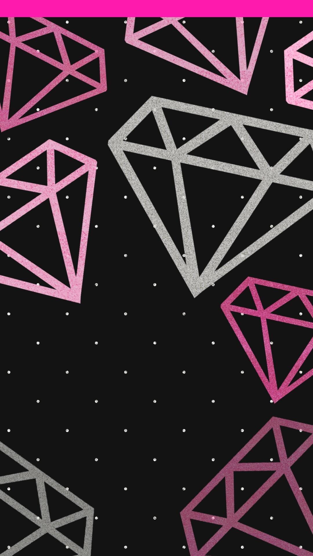 pinklifealways.tumblr.com · Diamond WallpaperKawaii WallpaperPink …