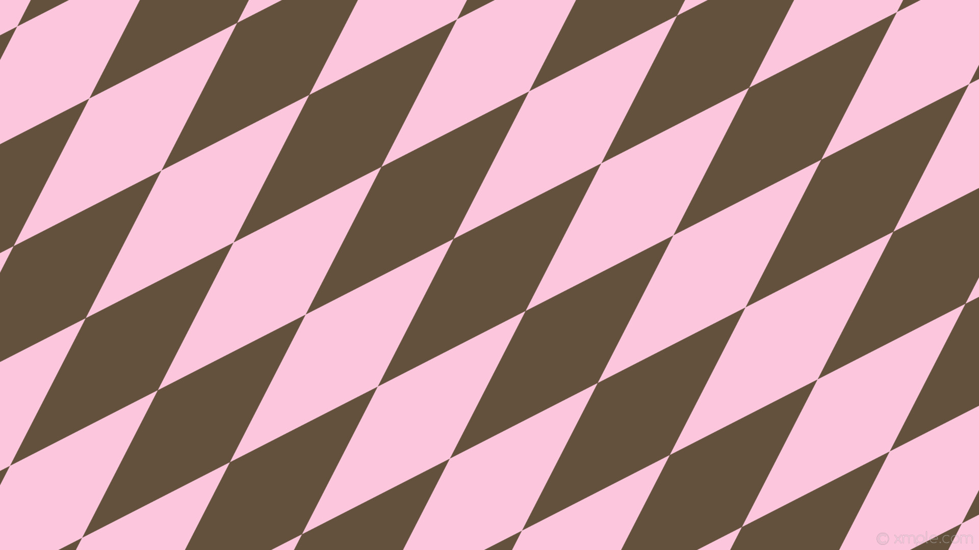 wallpaper orange rhombus lozenge pink diamond light pink #64513d #fcc6dd  45° 620px 200px