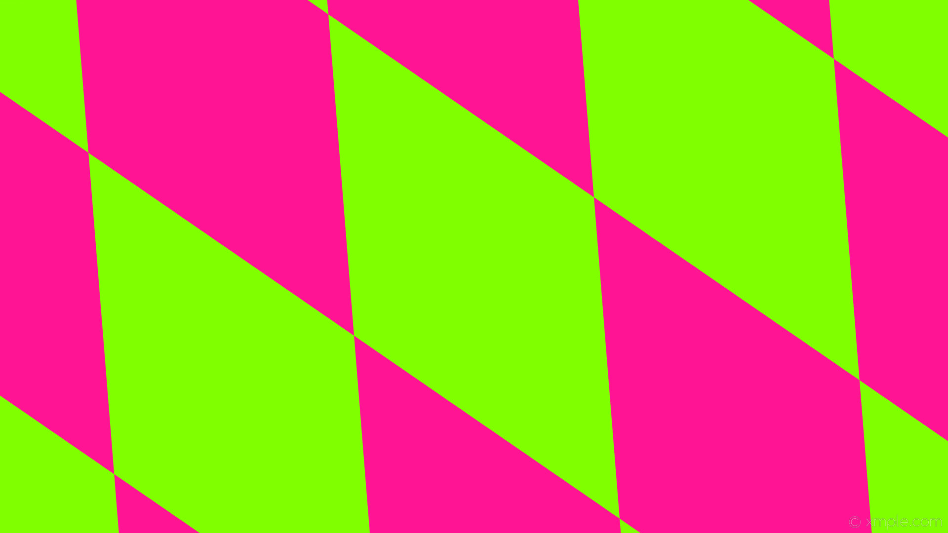 wallpaper green pink diamond lozenge rhombus chartreuse deep pink #7fff00  #ff1493 120° 1180px