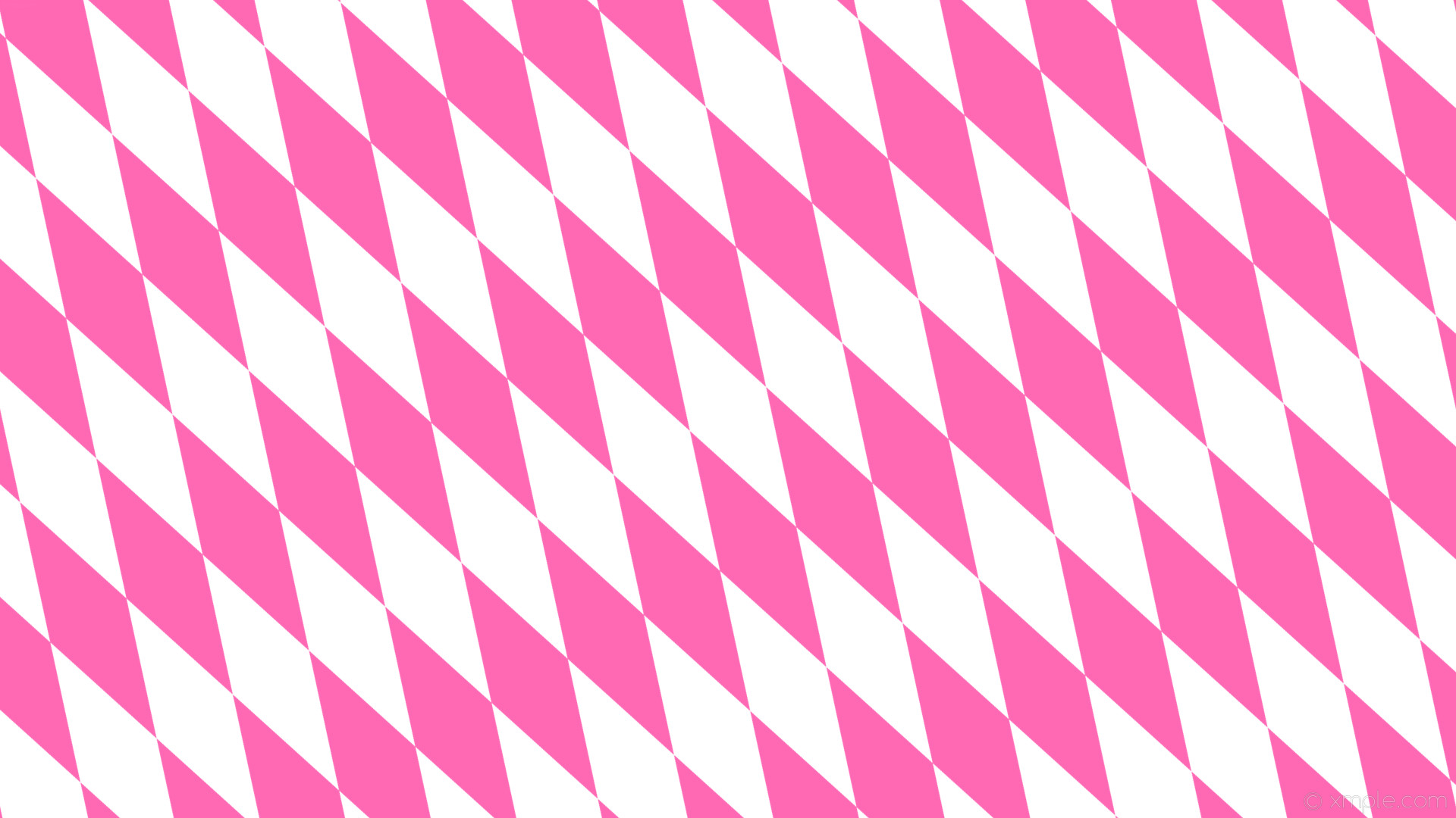 wallpaper rhombus pink diamond lozenge white hot pink #ffffff #ff69b4 120°  360px 116px
