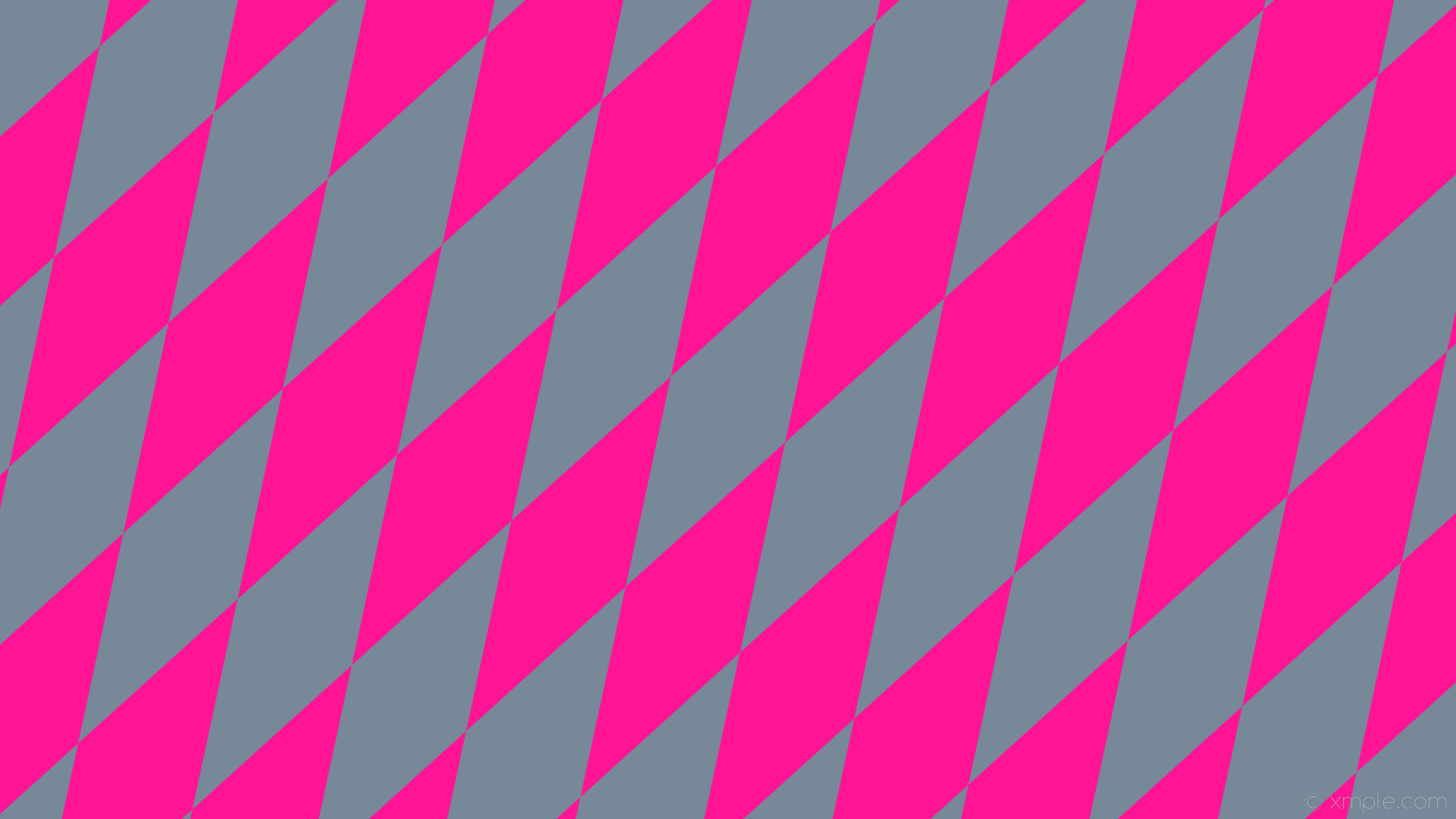 wallpaper pink lozenge diamond grey rhombus light slate gray deep pink  #778899 #ff1493 60