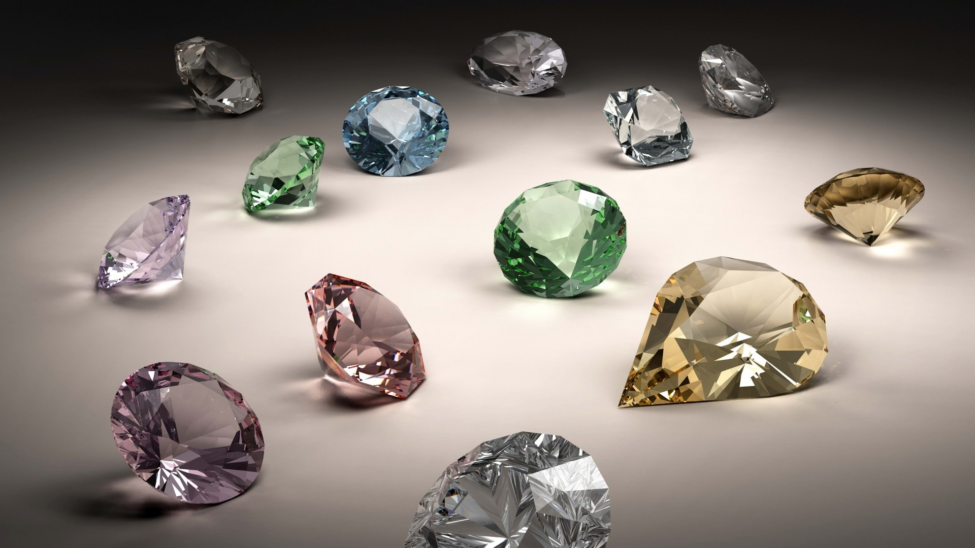 Download Wallpaper Stones, Jewels, Diamonds Full HD 1080p HD  Background