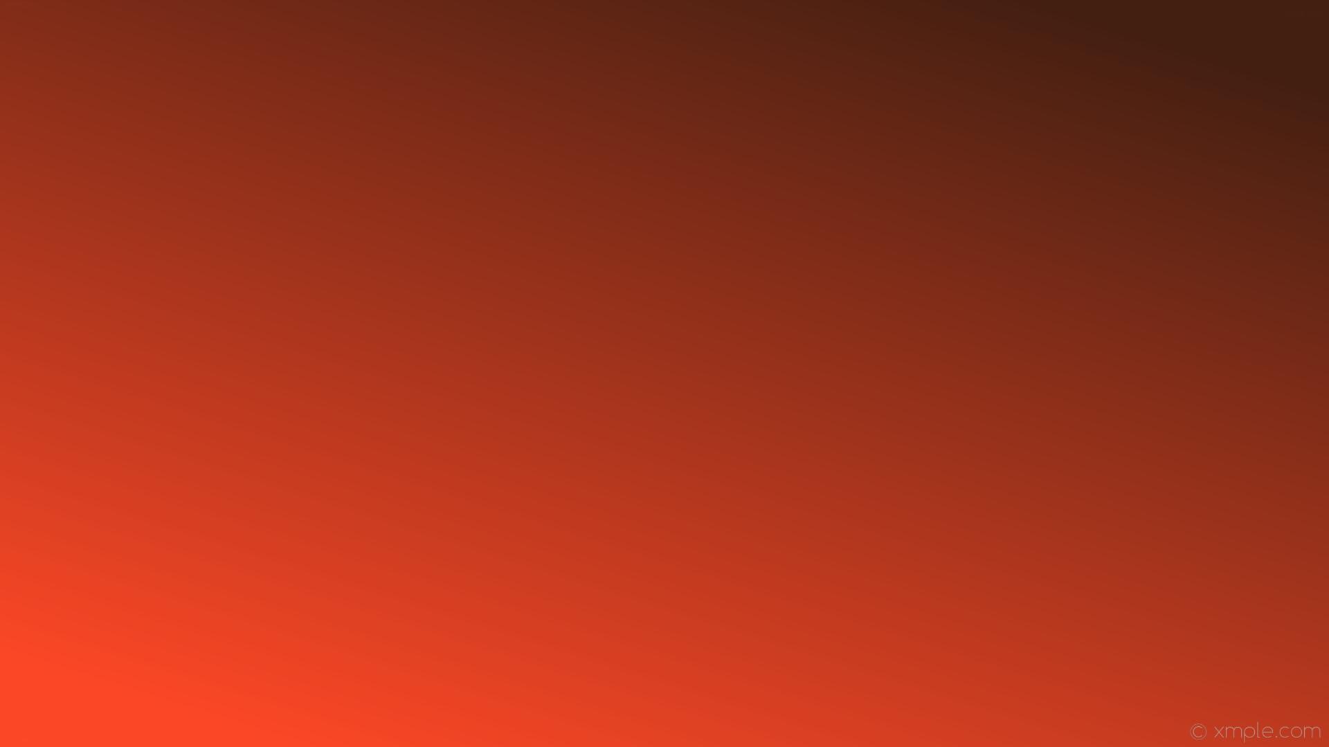 wallpaper linear orange gradient red dark orange #431f11 #fb4726 45°