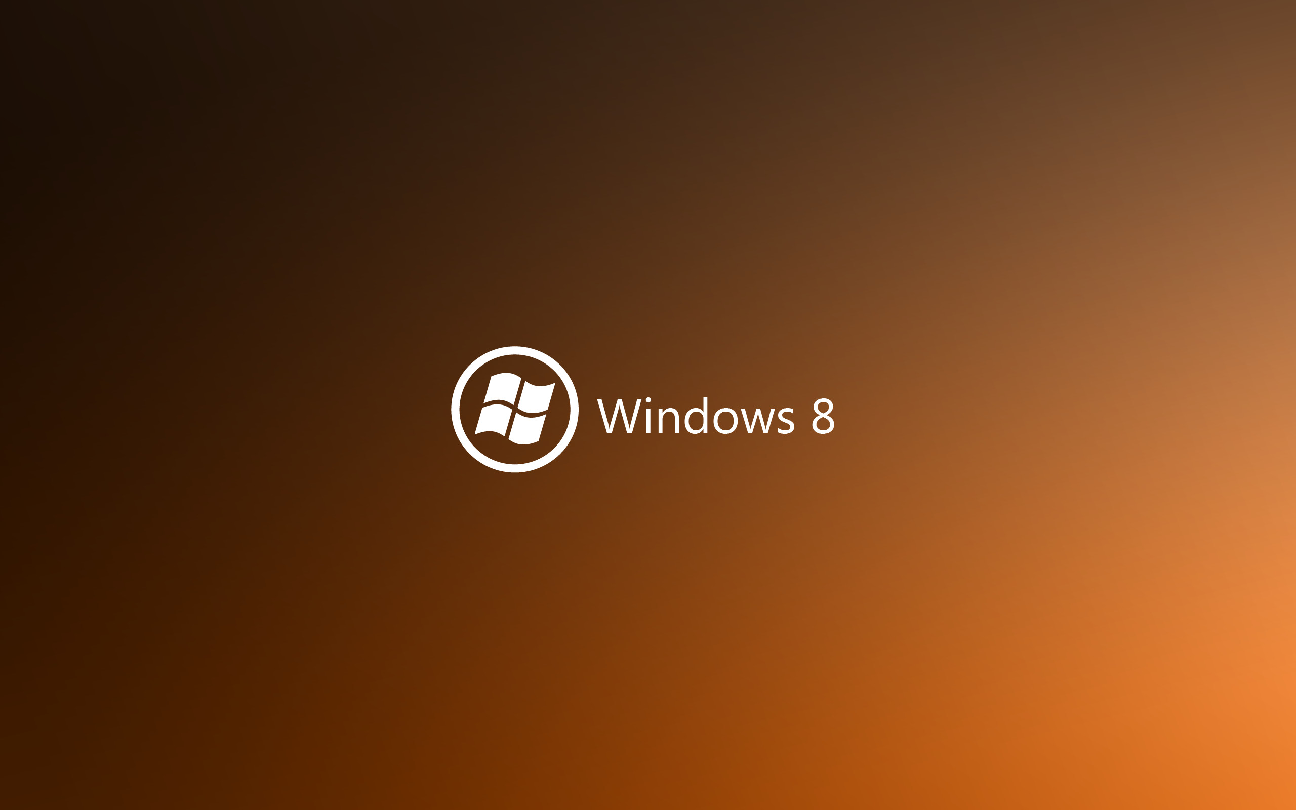 Dark Orange Windows 8. How to set wallpaper on your desktop?  Click the download link from above and set the wallpaper on the desktop  from your OS.