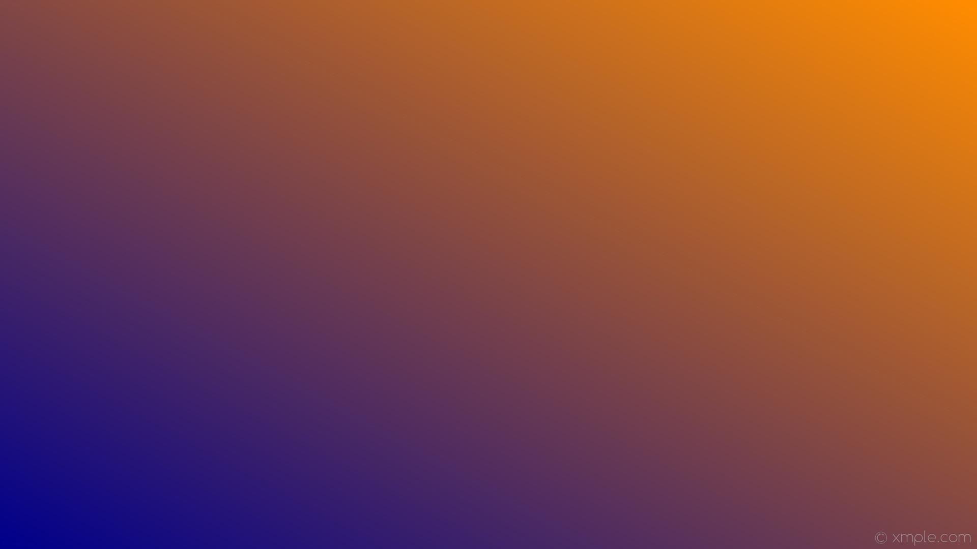 wallpaper linear gradient orange blue dark orange dark blue #ff8c00 #00008b  30°