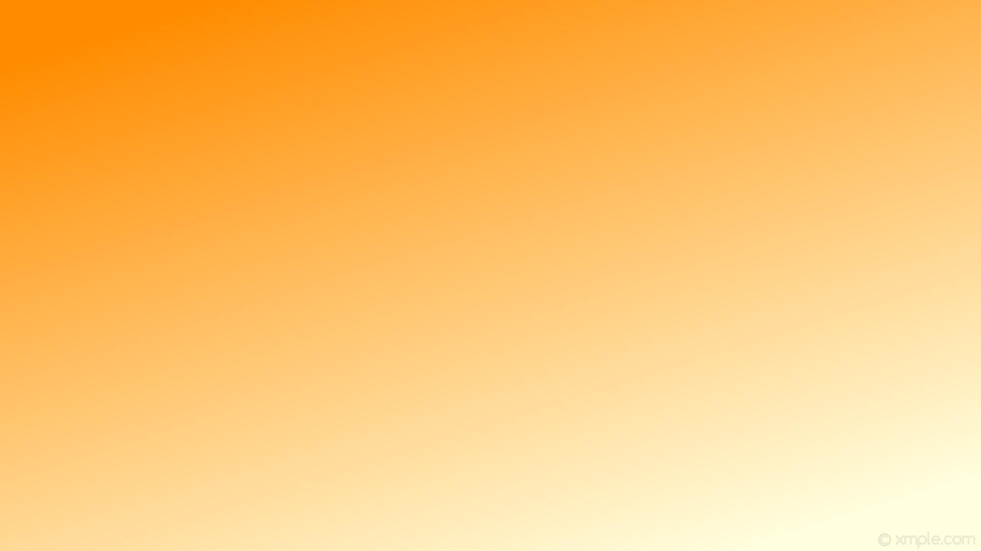 wallpaper orange gradient yellow linear light yellow dark orange #ffffe0  #ff8c00 315°