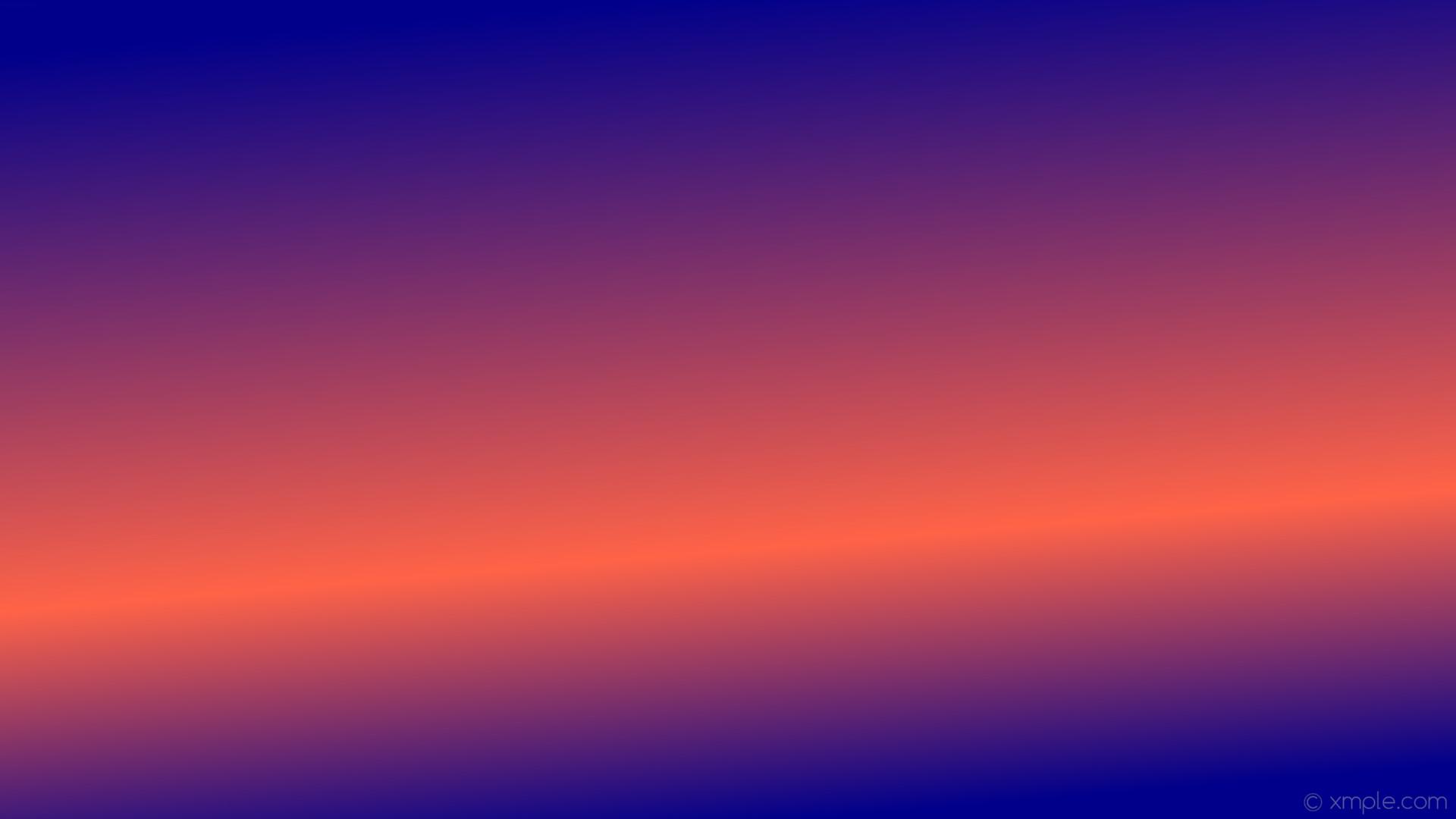 wallpaper linear orange blue gradient highlight dark blue tomato #00008b  #ff6347 285° 33