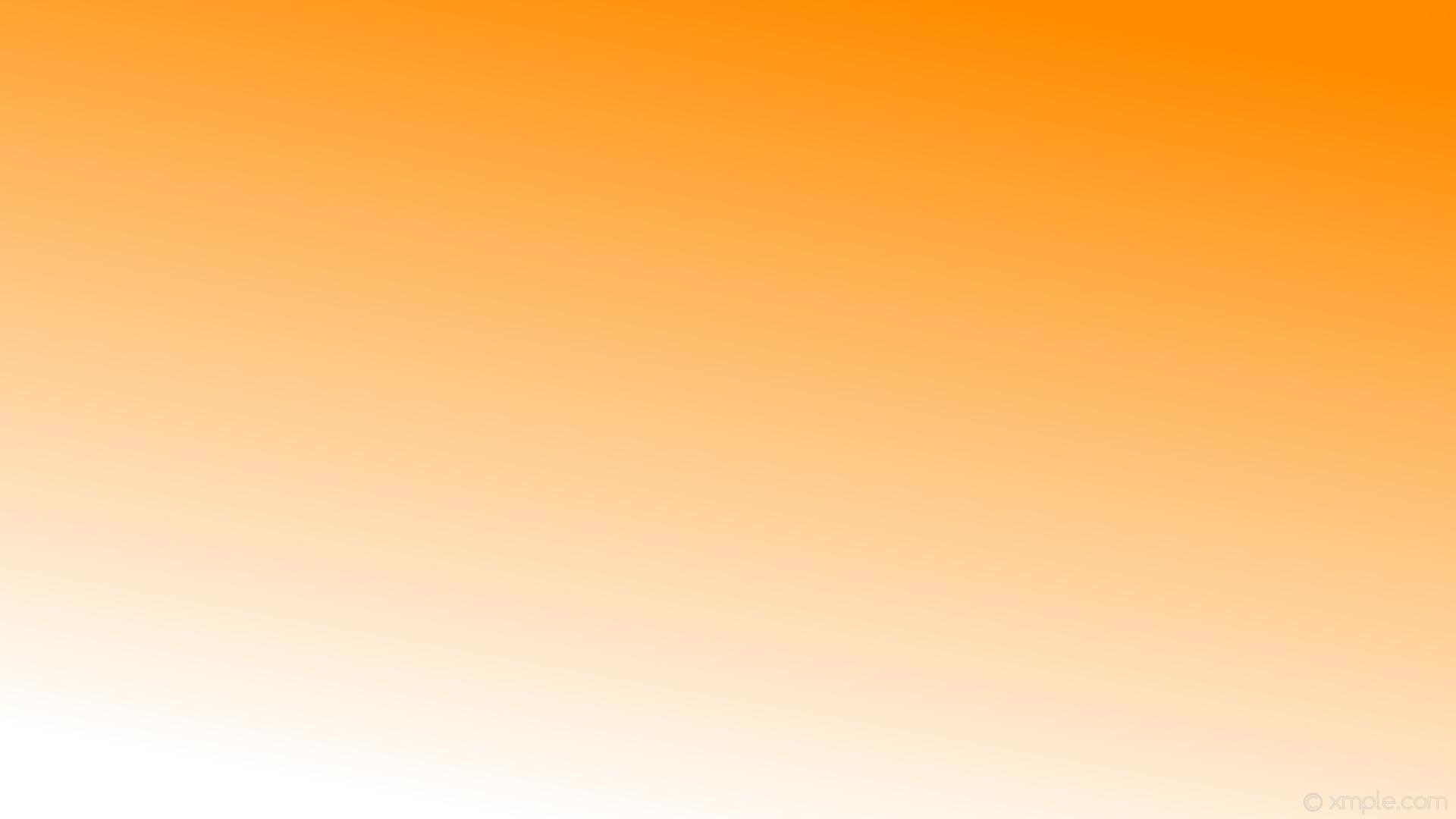 wallpaper linear gradient orange white dark orange #ff8c00 #ffffff 60°