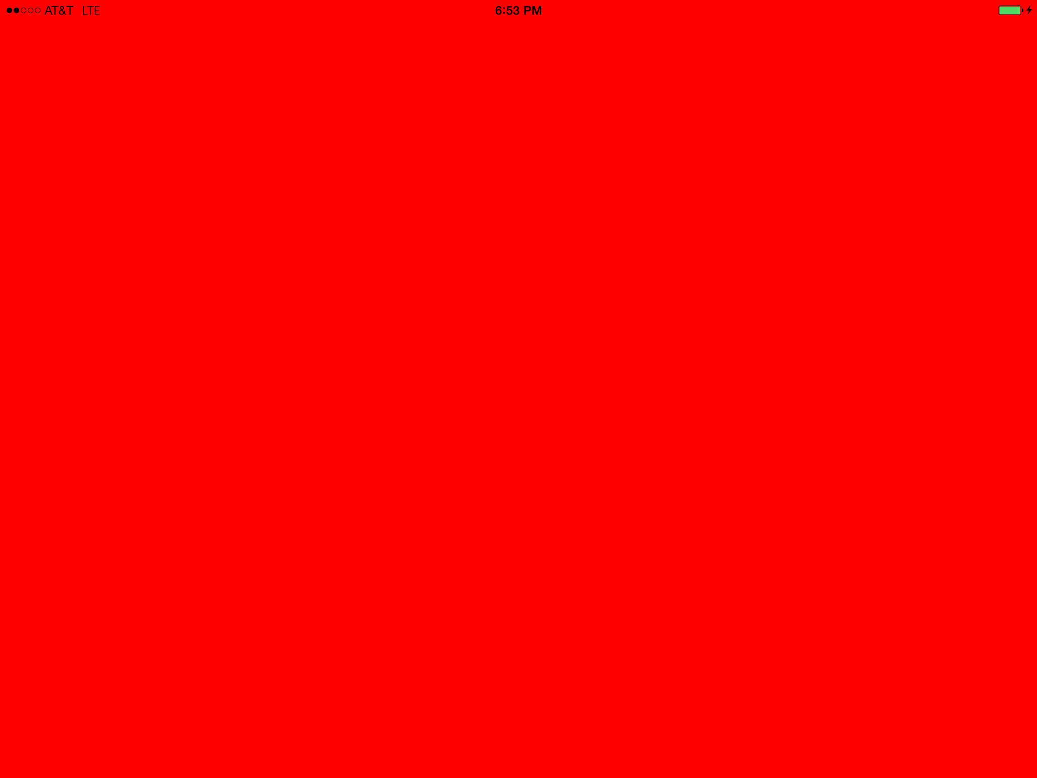 Plain Color Red