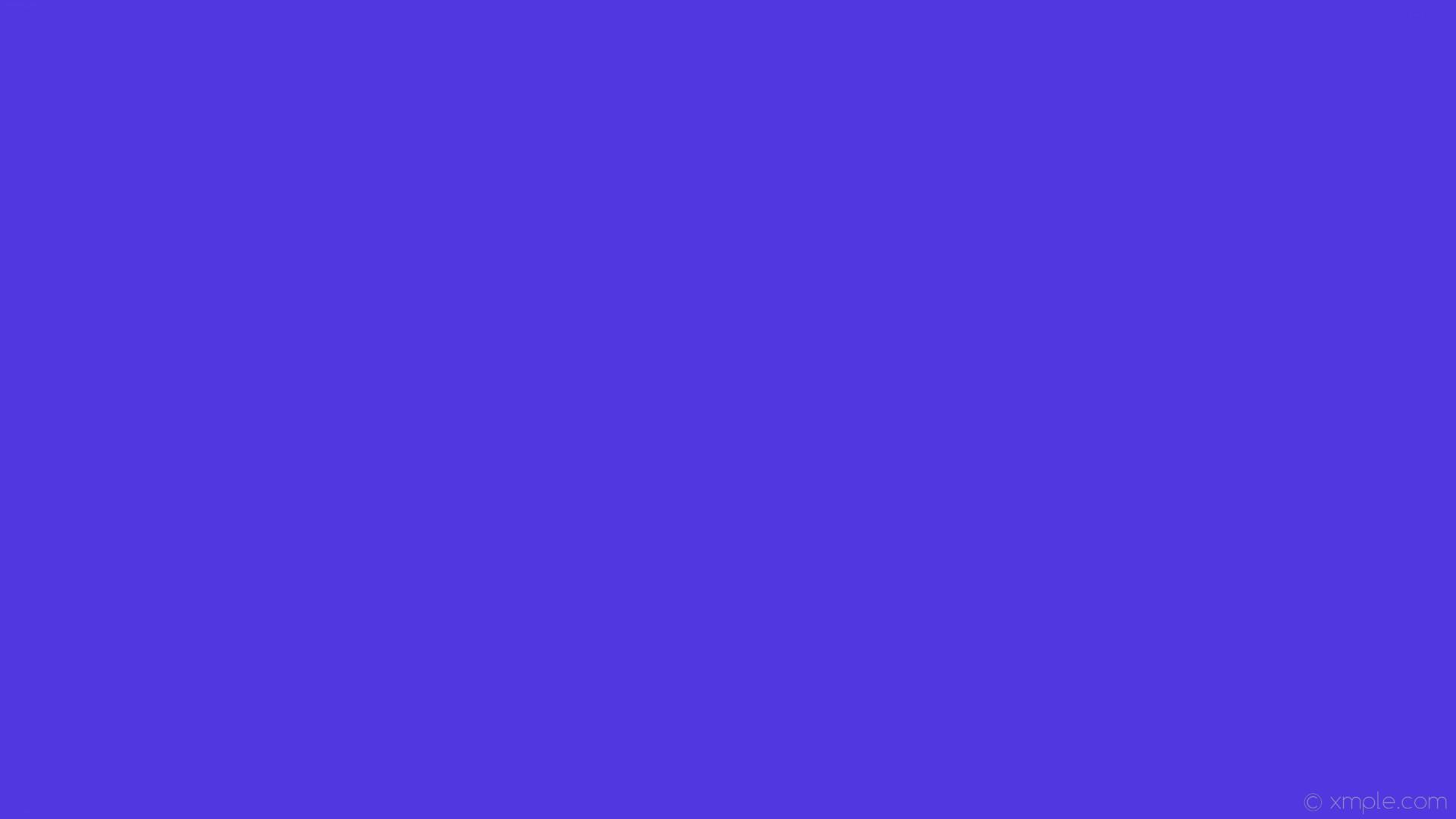 wallpaper solid color one colour blue single plain #5037e0