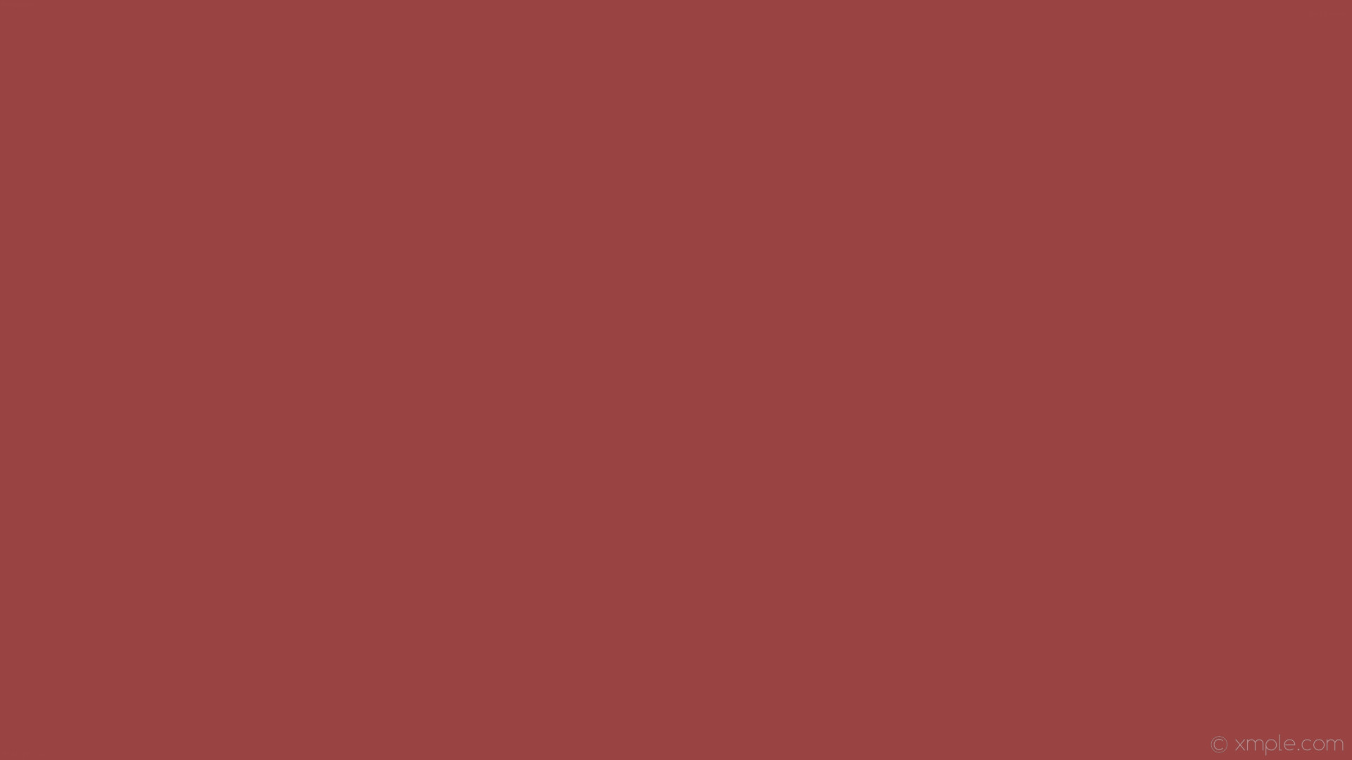 wallpaper plain single red one colour solid color #994443