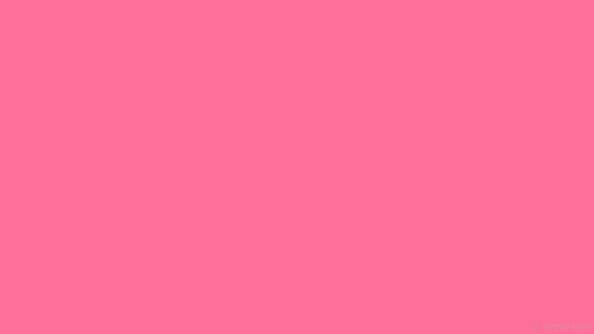 wallpaper solid color pink plain one colour single #ff7096