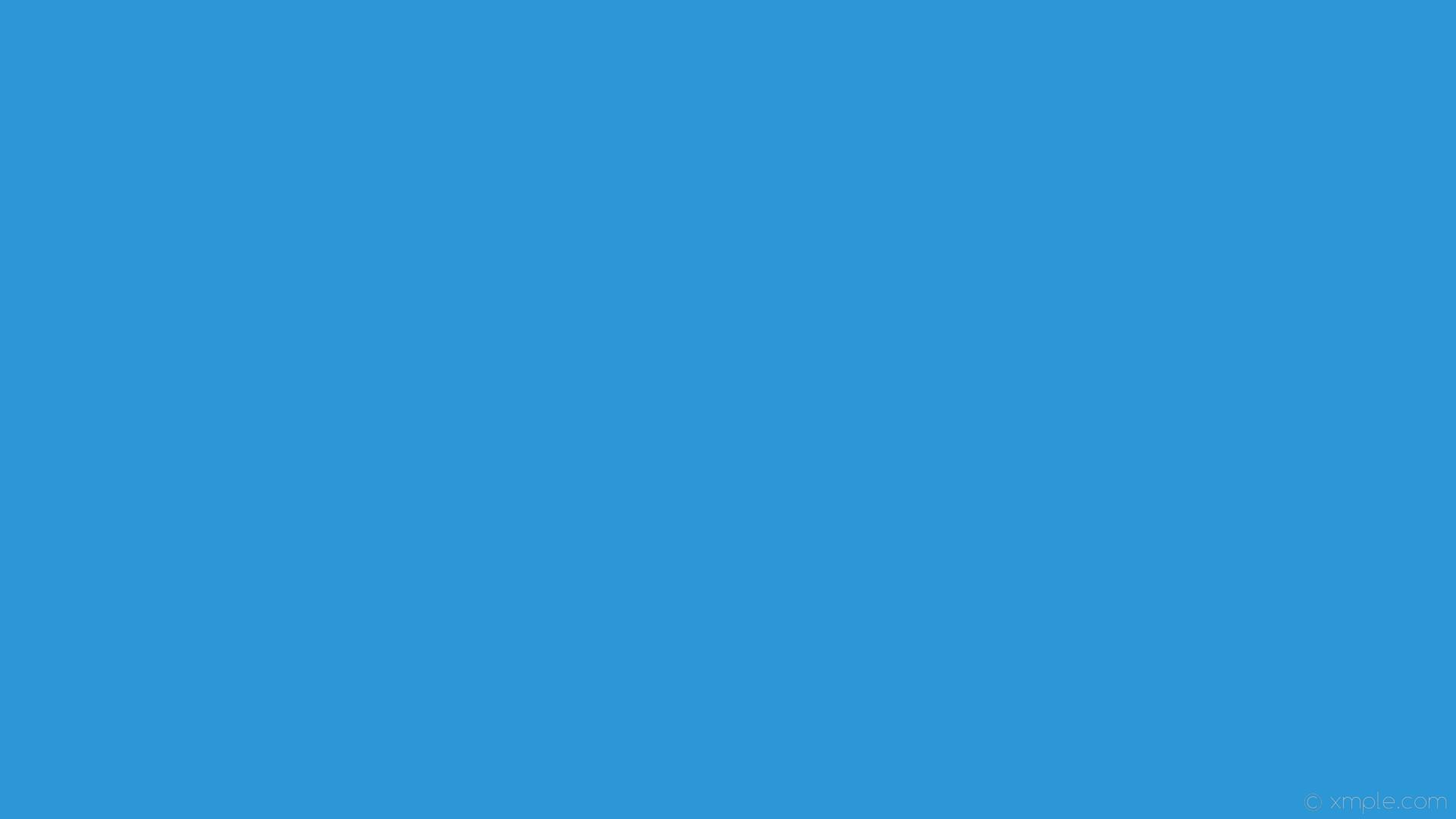 wallpaper plain single azure one colour solid color #2b97d7