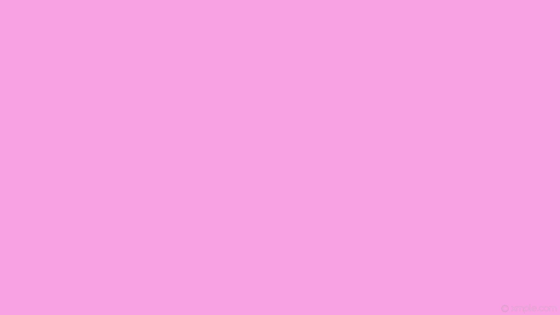 wallpaper single one colour solid color plain pink light pink #f9a2e3