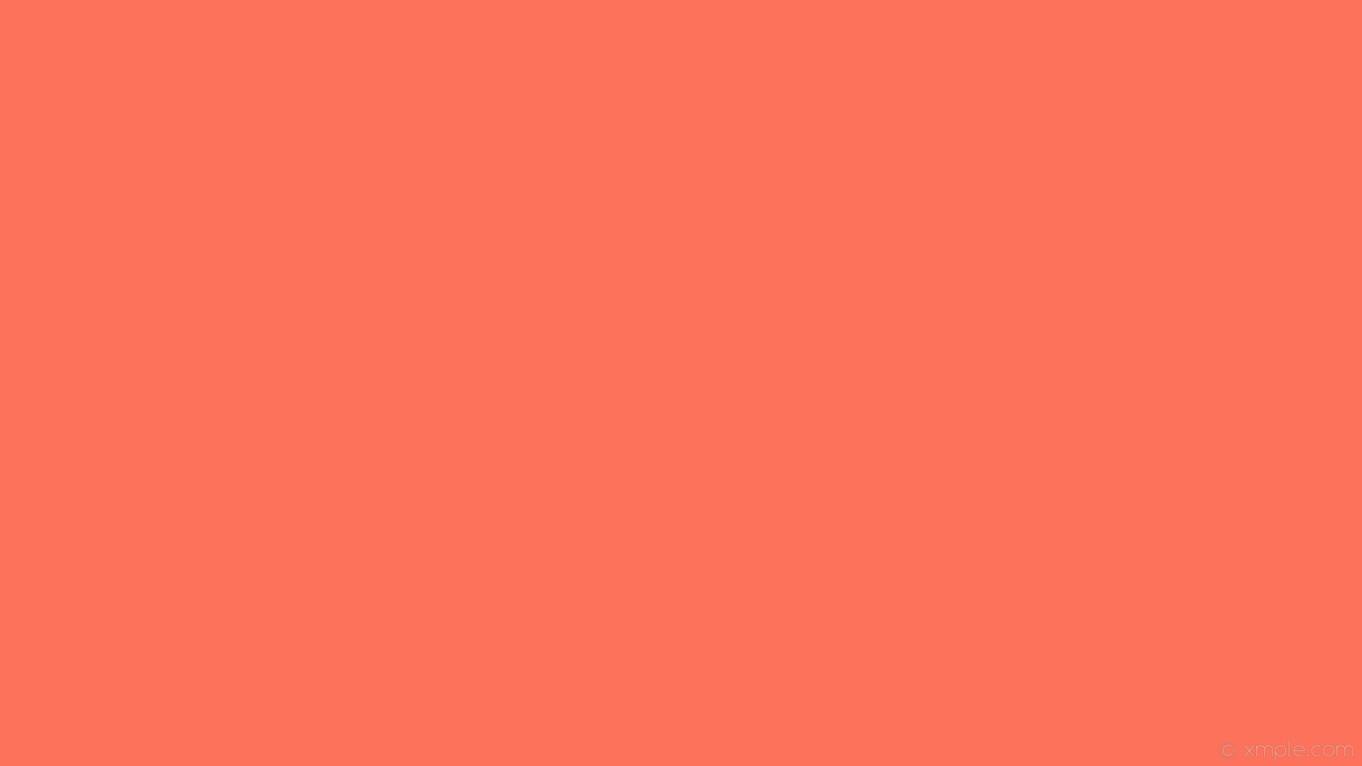 wallpaper single plain solid color one colour red #fc725a